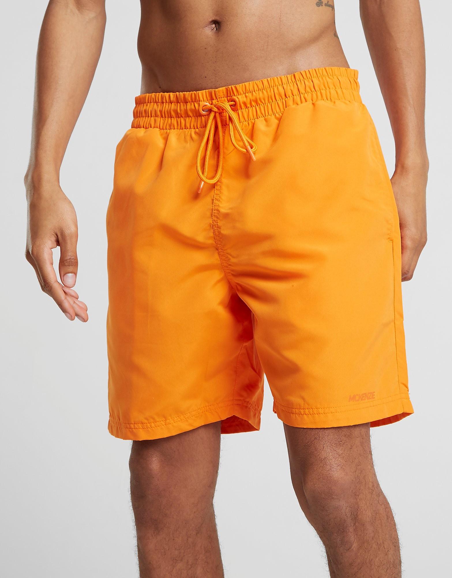 McKenzie Core Swim Shorts - Only at JD - Orange - Mens, Orange