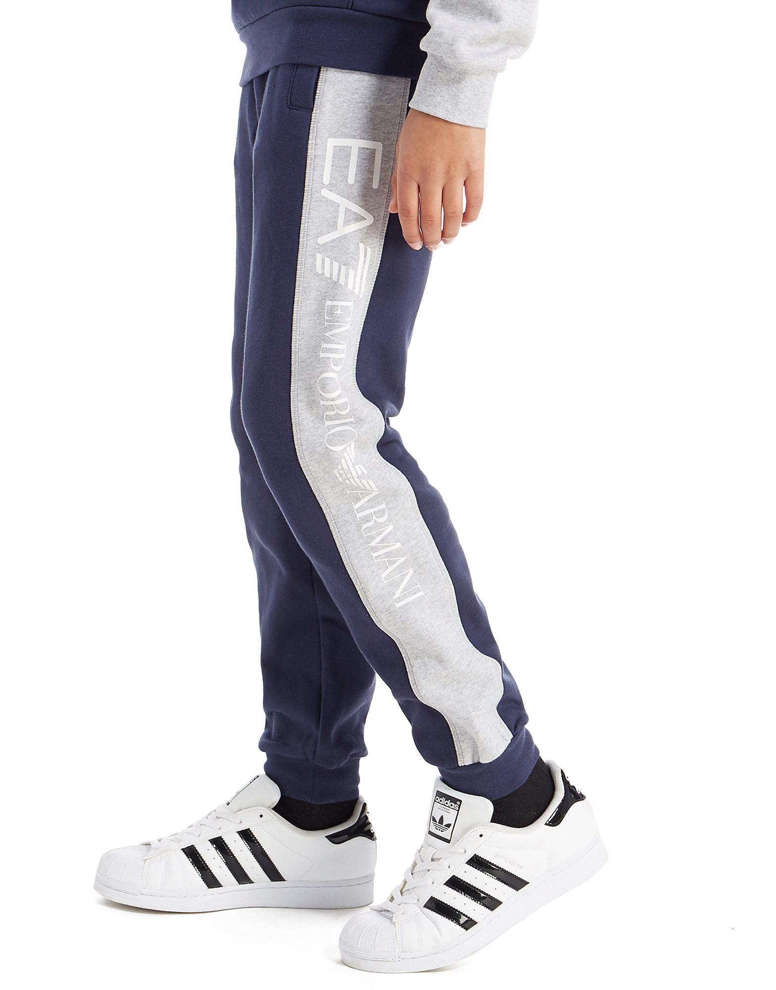 Emporio Armani EA7 pantalón Panel Fleece júnior