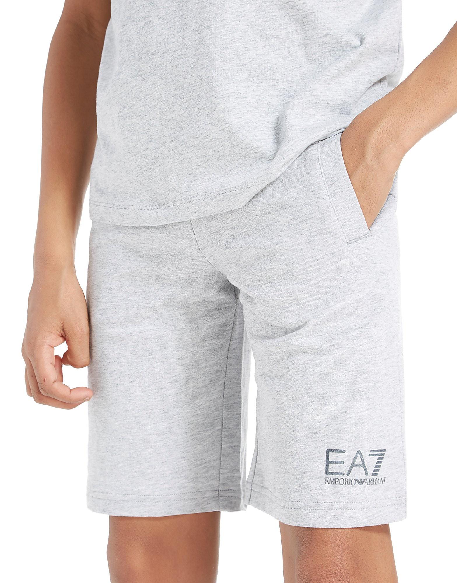 Emporio Armani EA7 Core Fleece Shorts Junior - Grijs - Kind