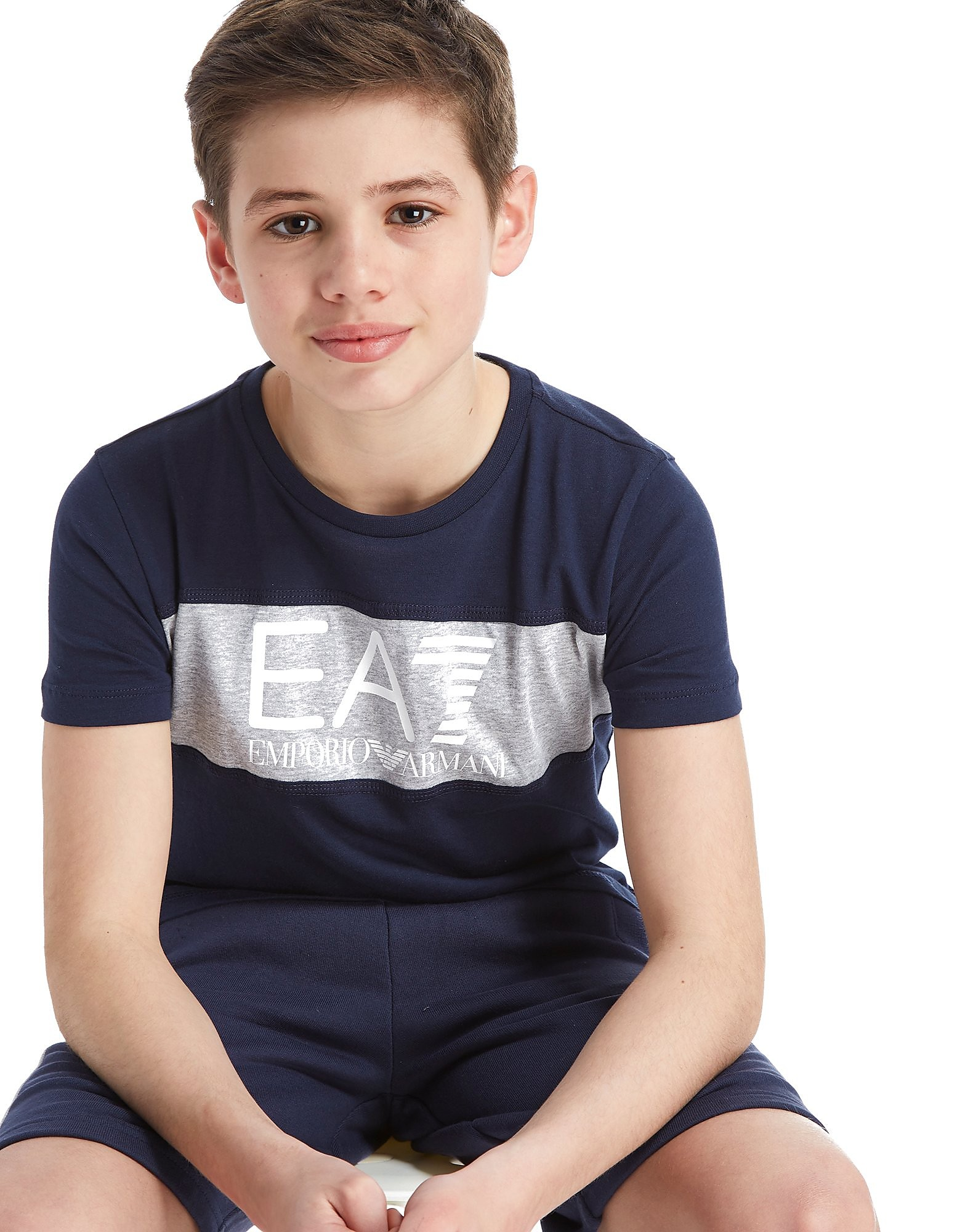 Emporio Armani EA7 Panel logo T-Shirt Junior