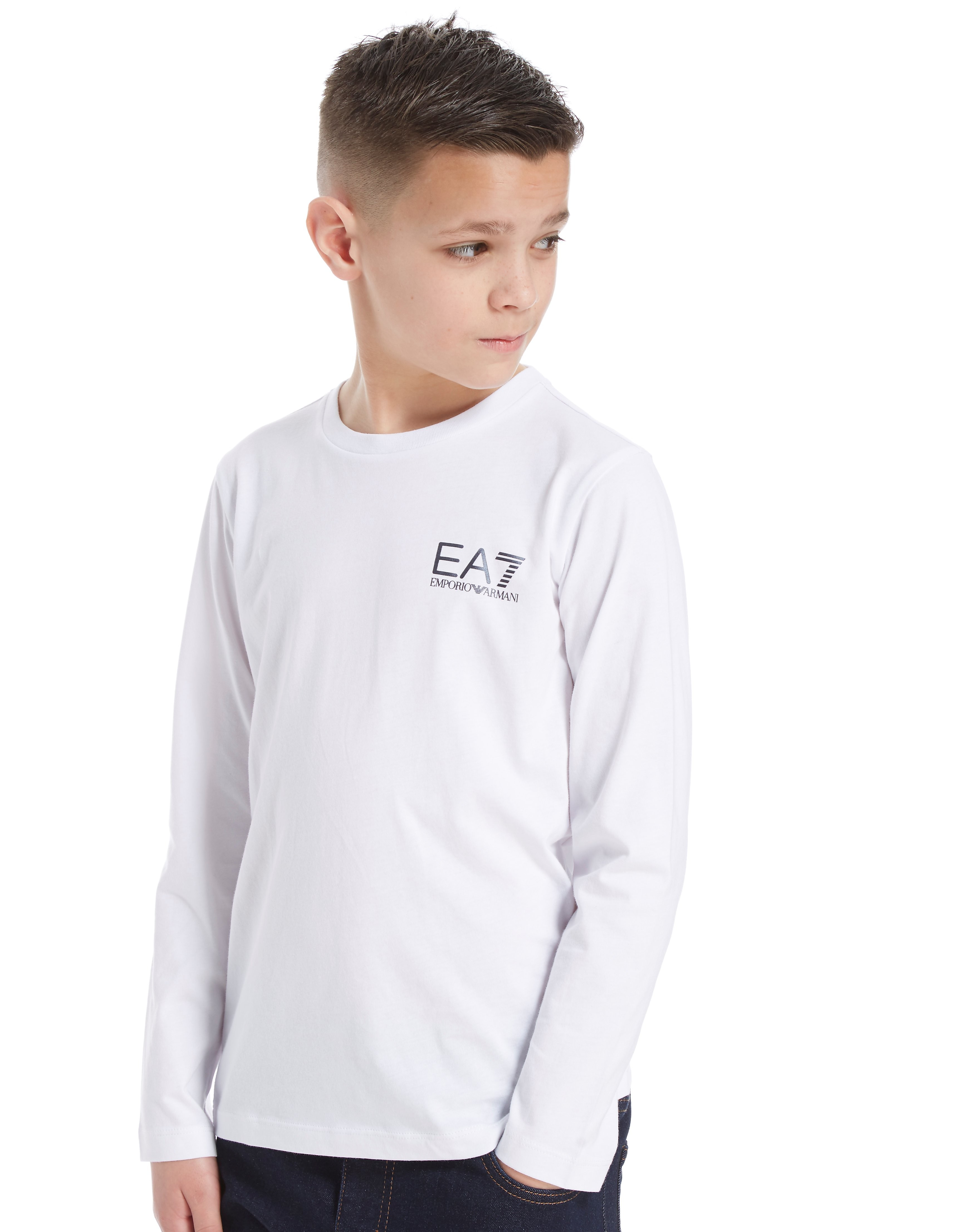Emporio Armani EA7 Core Logo Long Sleeve T-Shirt Junior