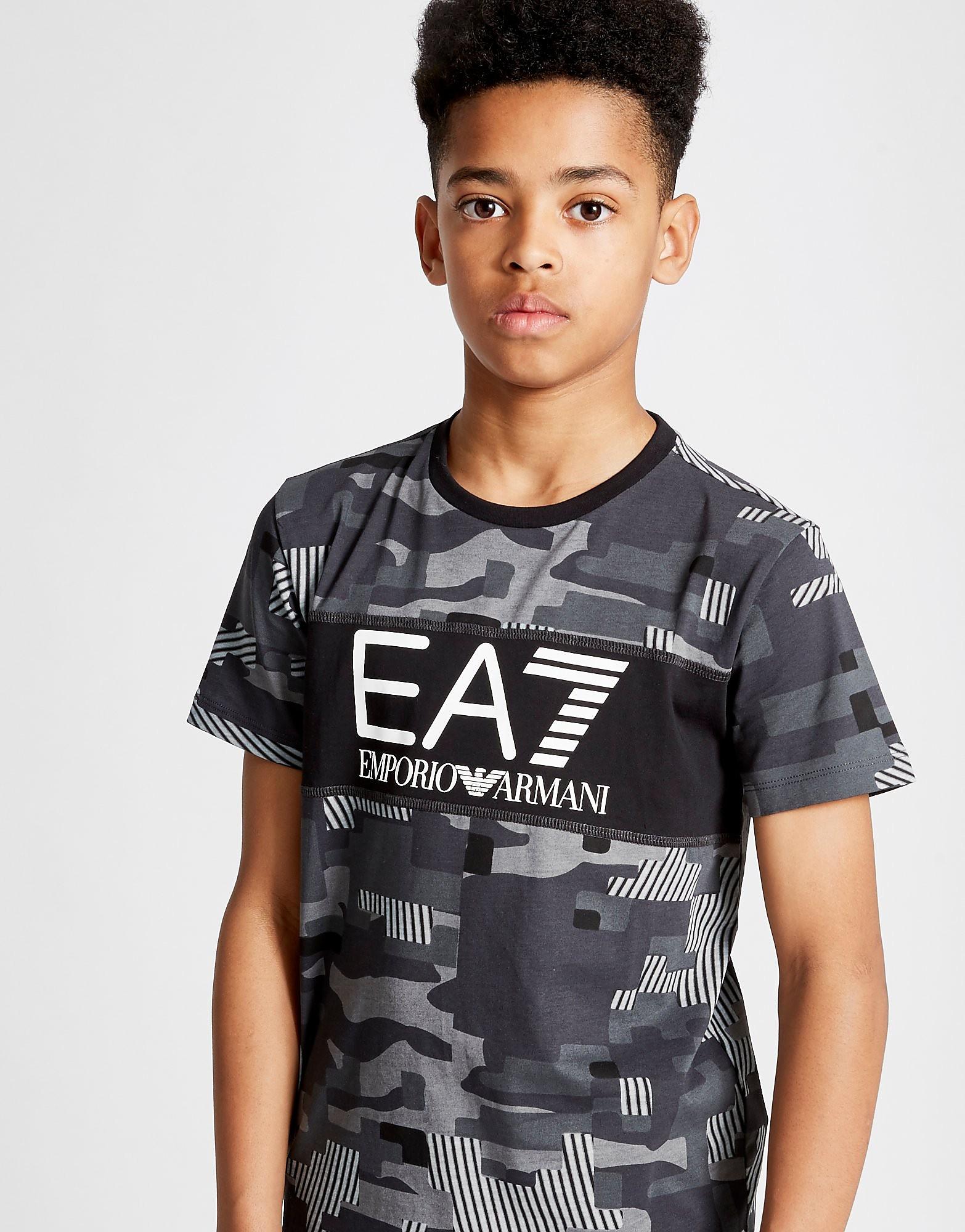 Emporio Armani EA7 Digital Camo T-Shirt Junior