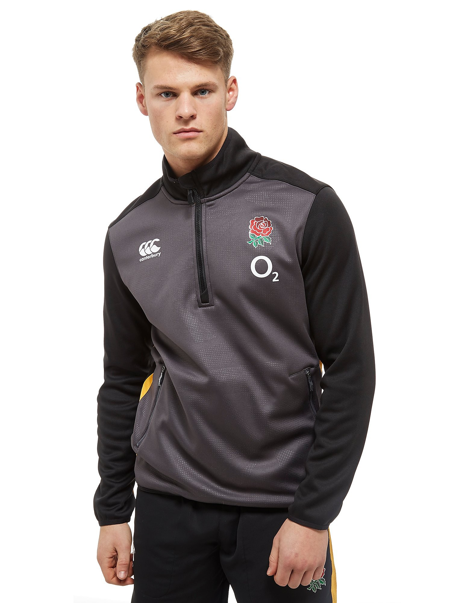 Canterbury England RFU Thermal Layer 1/2 Zip Fleece