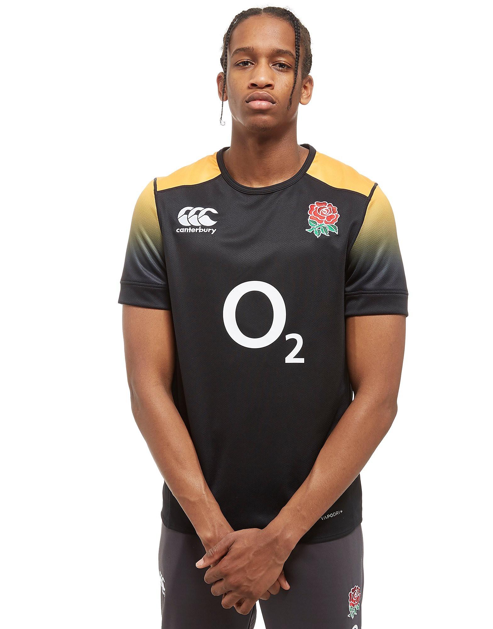 Canterbury England RFU Pro Training Shirt - Schwarz - Mens, Schwarz