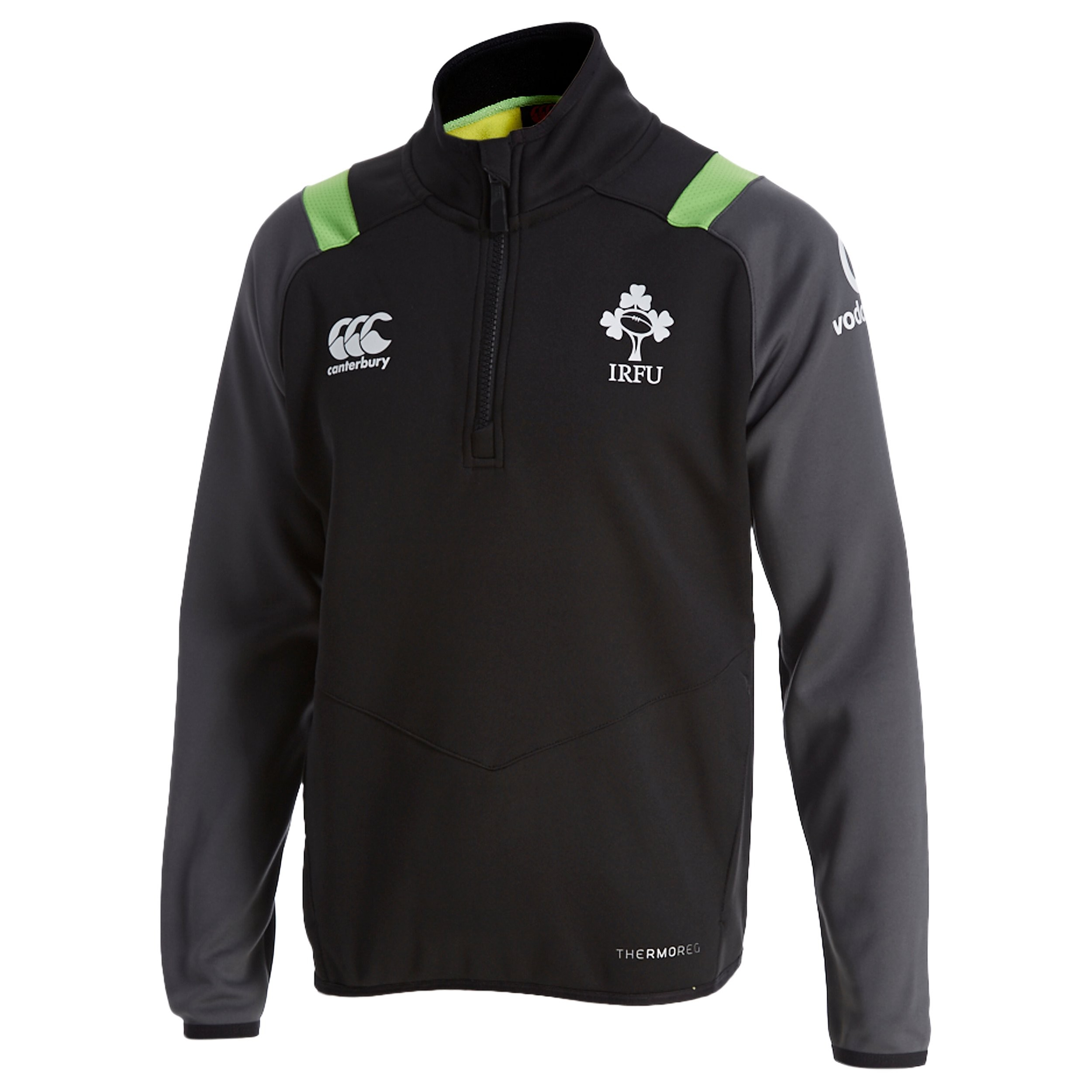 Canterbury Ireland RFU Thermoreg Half Zip Top Junior