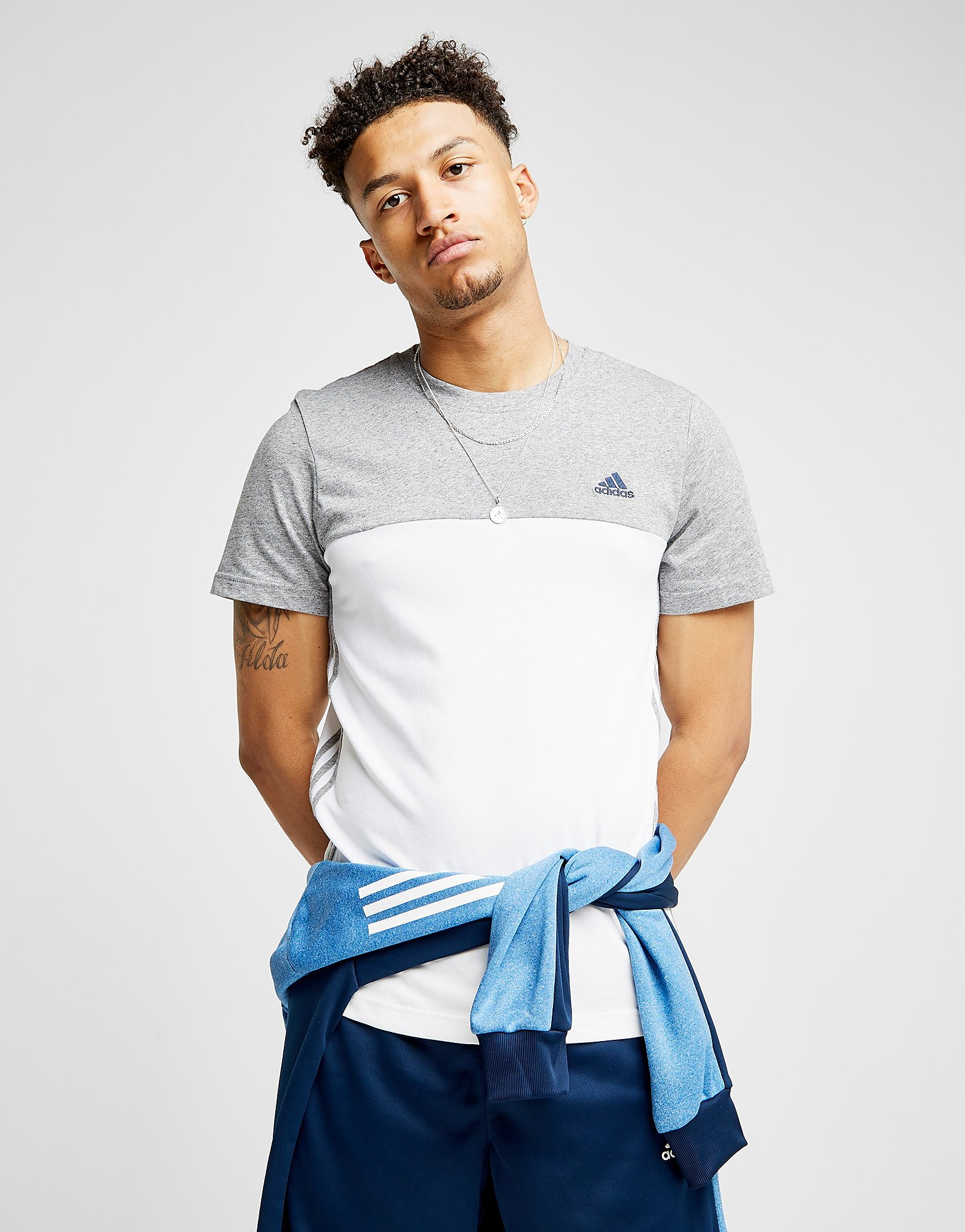 adidas Essential Colourblock T-Shirt