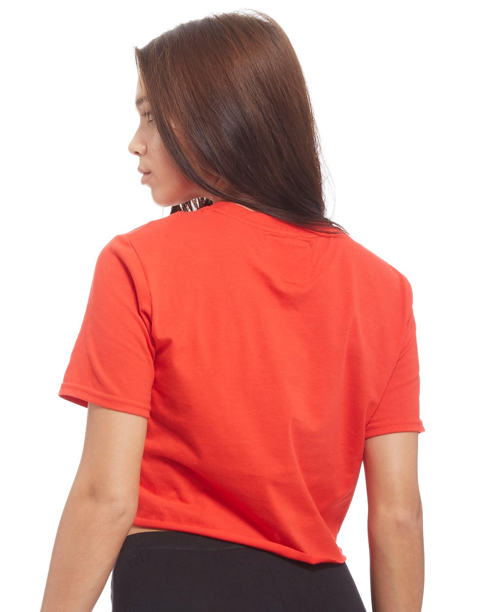 Supply & Demand Girl Hood Crop T-Shirt