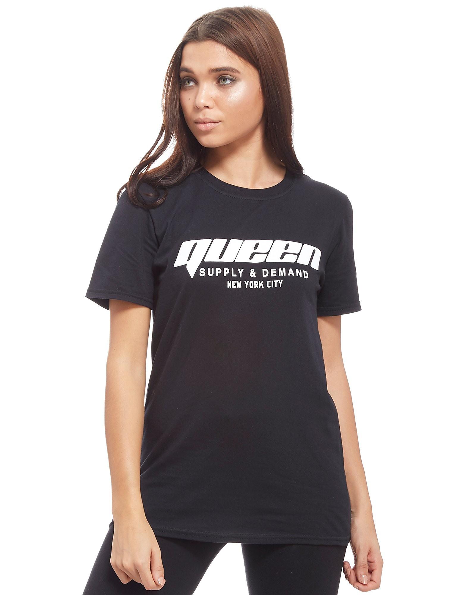 Supply & Demand Queen New York City T-Shirt