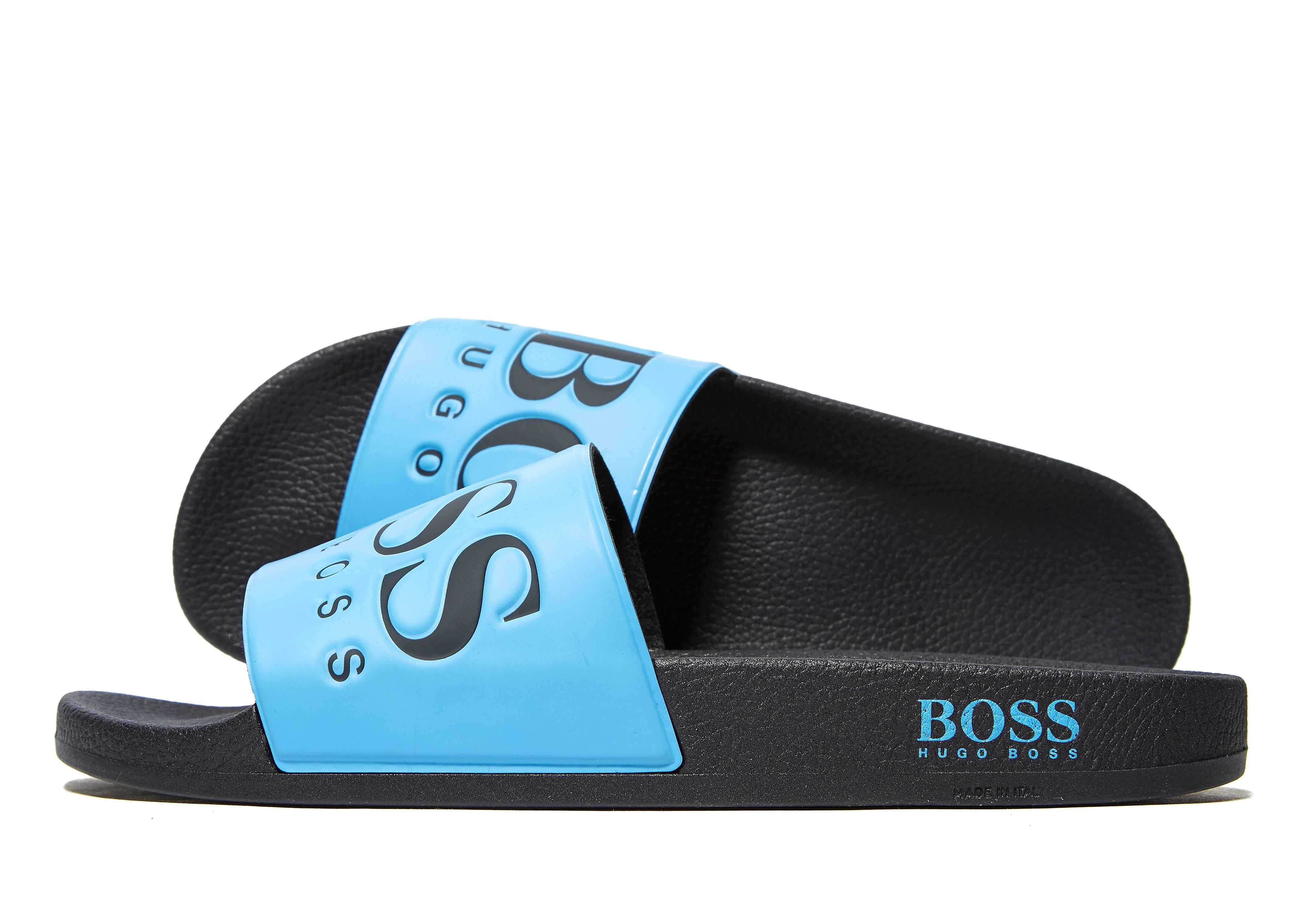 BOSS Solar Slides - Blauw - Heren