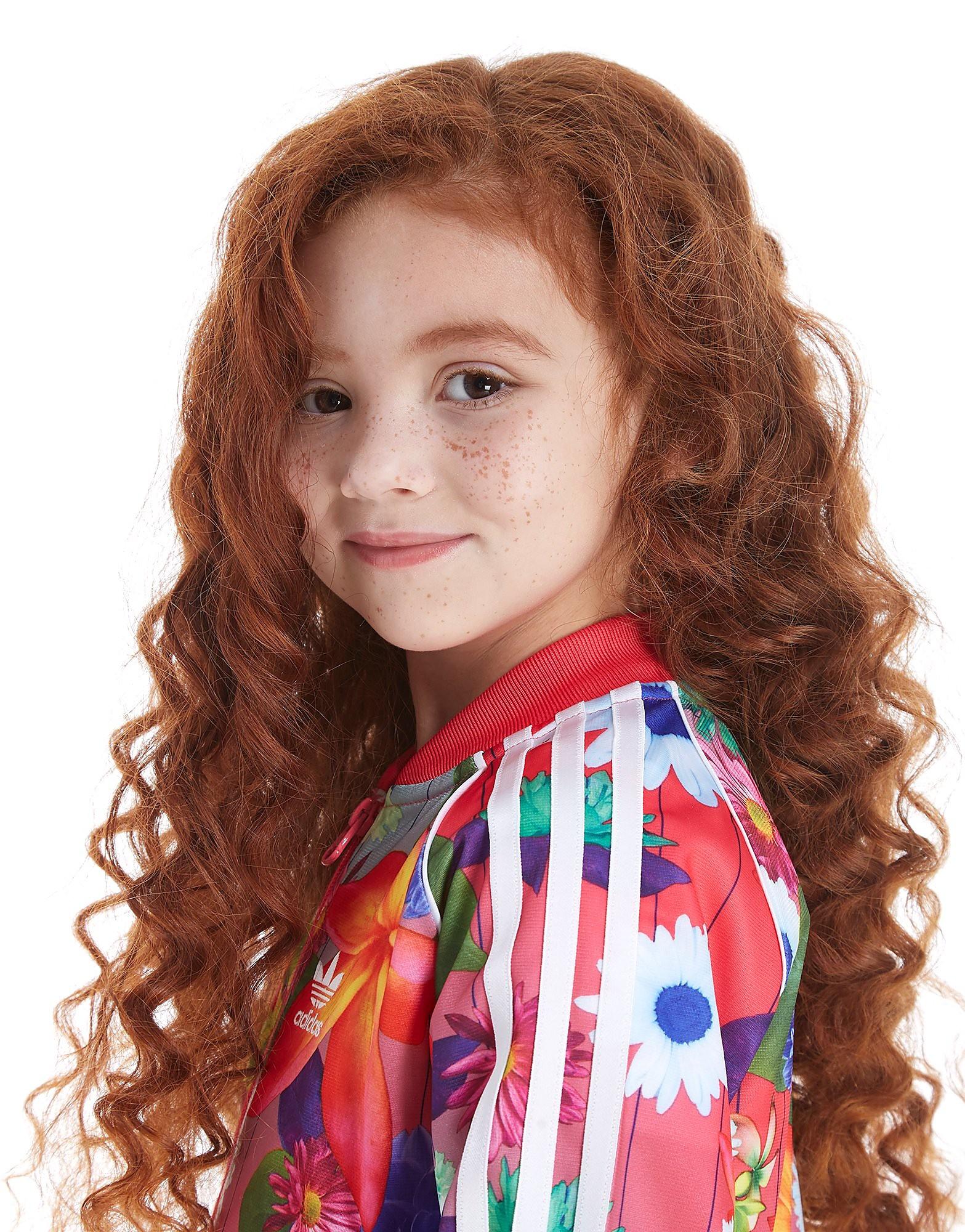 adidas Originals Girls' Superstar All Over Print Tracksuit Children