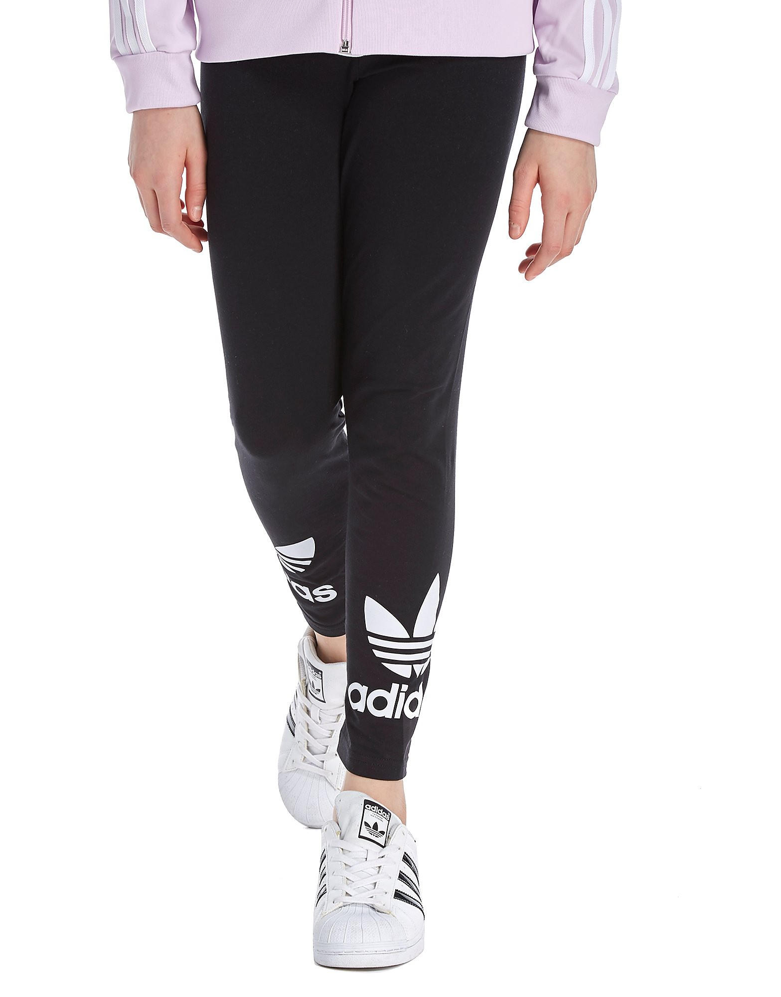 adidas Originals Girls' Trefoil Leggings Junior