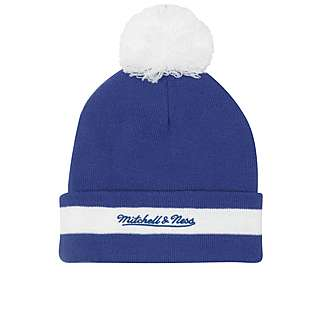 Mitchell & Ness NHL Toronto Maple Leafs Stripe Bobble Hat