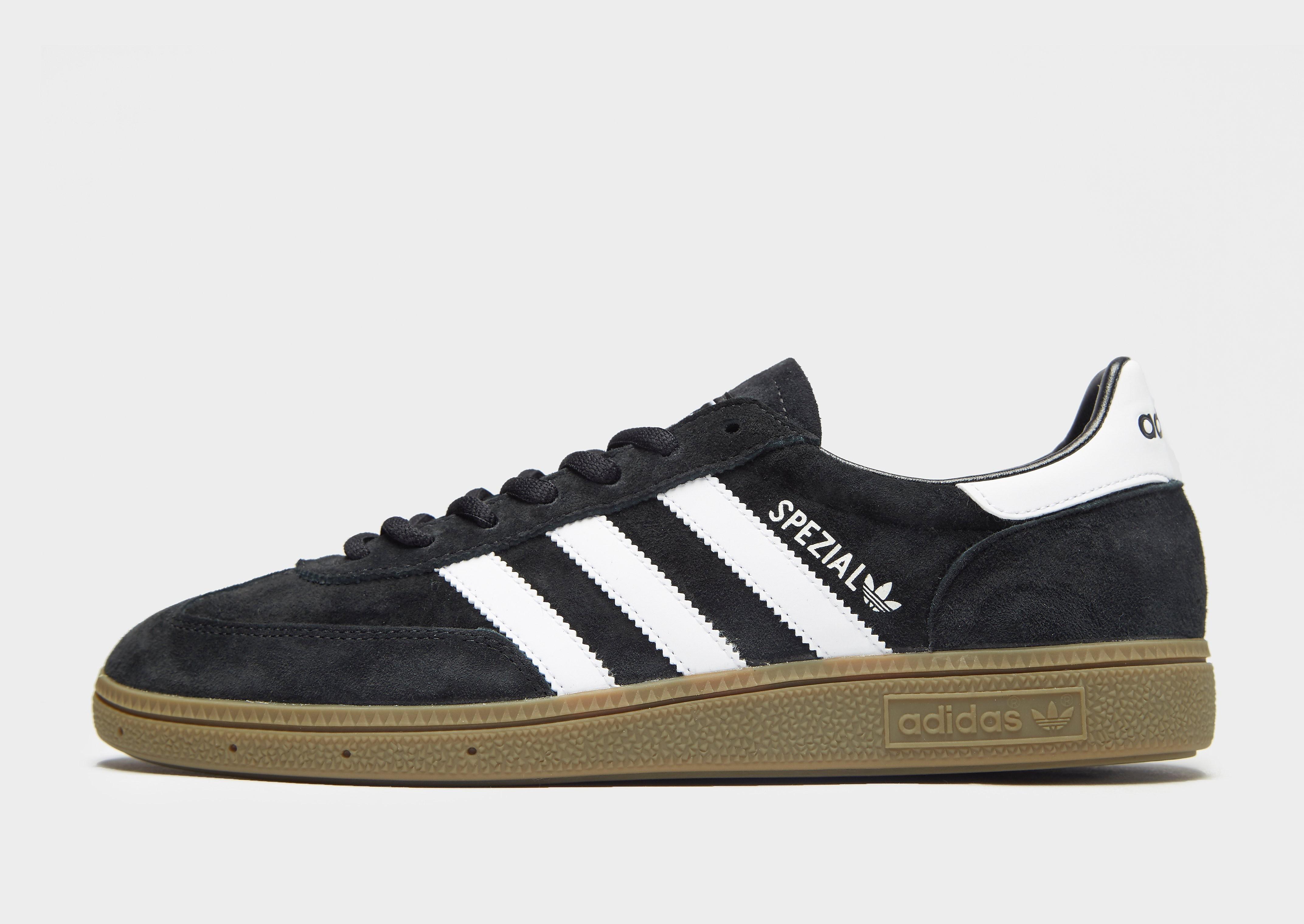 Adidas Spezial herensneaker zwart en goud