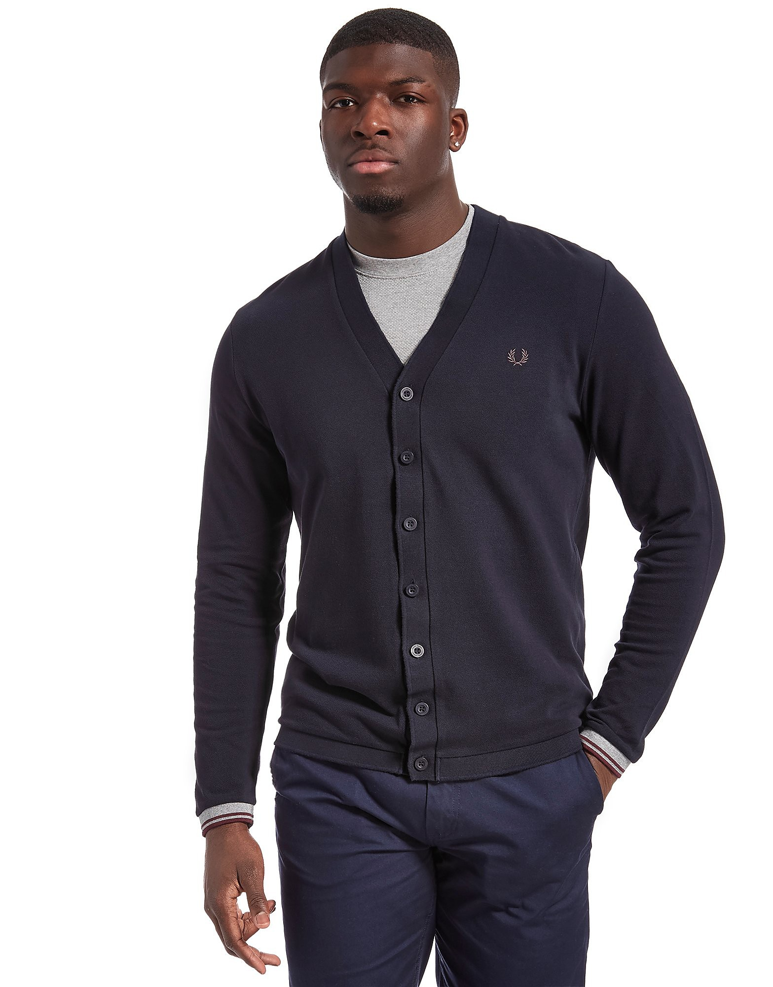 Fred Perry Pique Cardigan