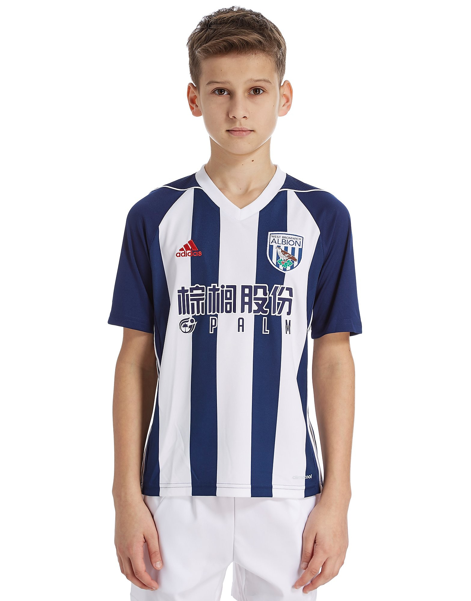 adidas West Brom Albion Home 17/18 Shirt Junior