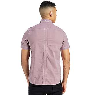 Fred Perry Gingham Short Sleeved Shirt