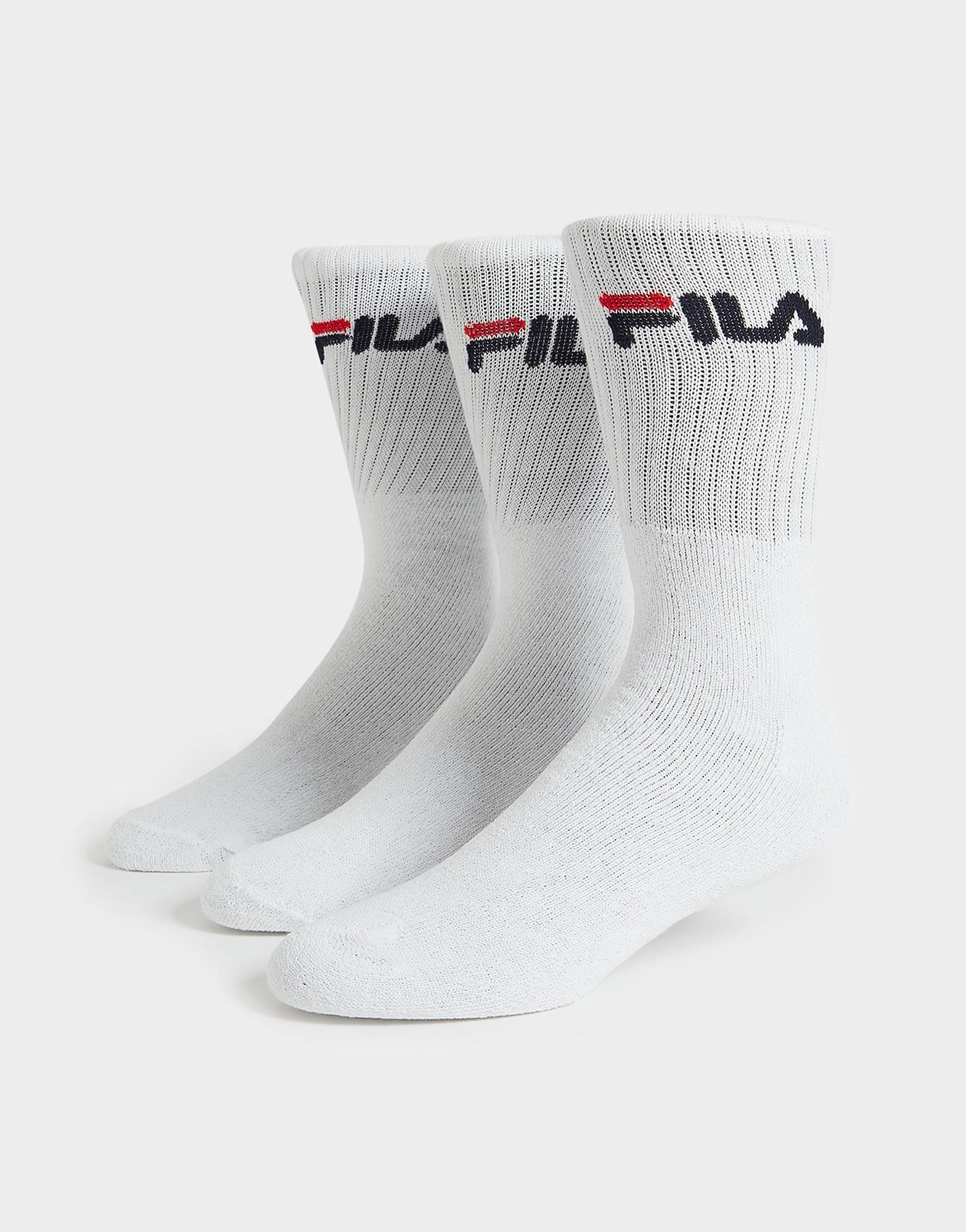 Fila 3 Pack Crew Sports Socks