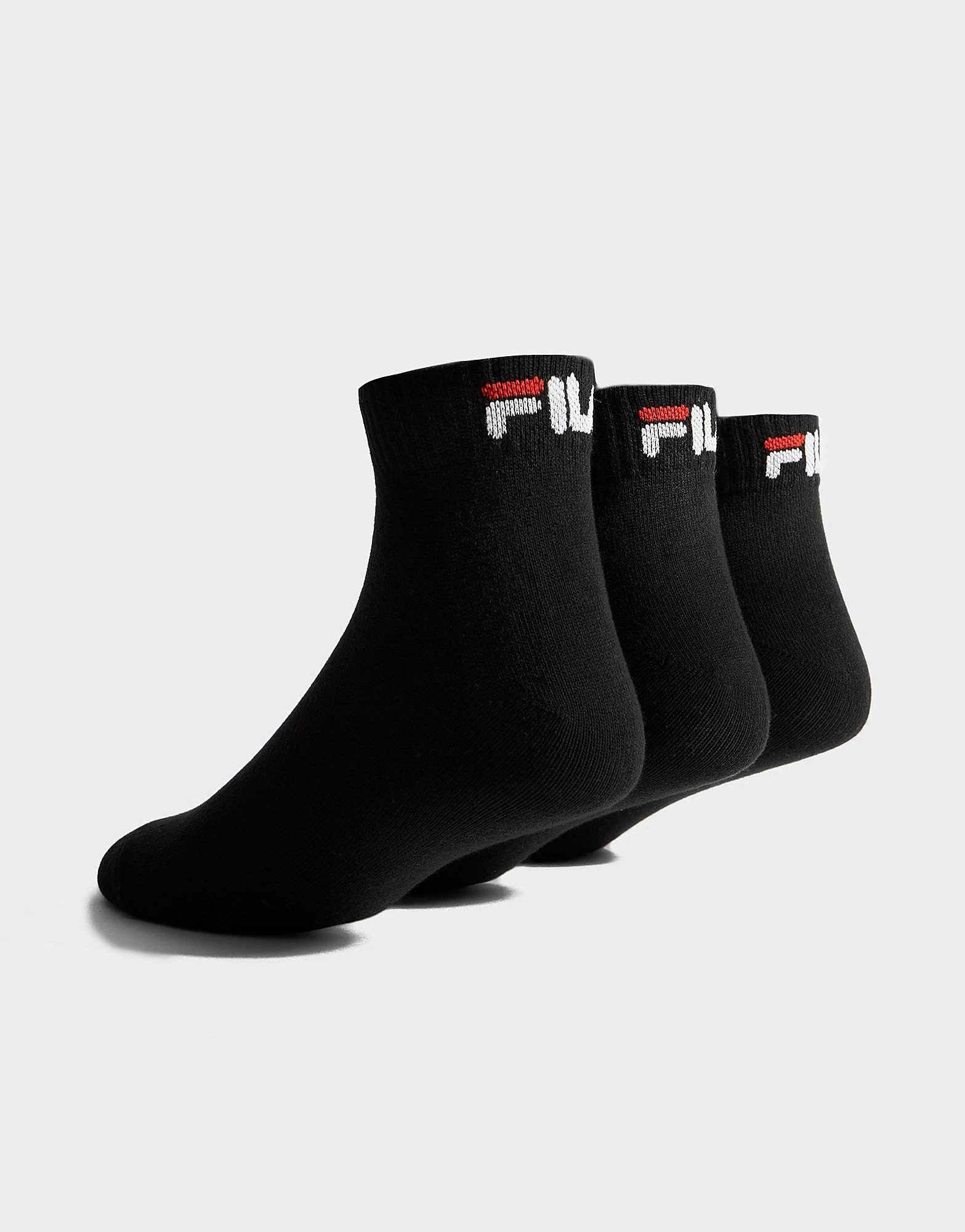 Fila 3 Pack Quarter Sportsocken
