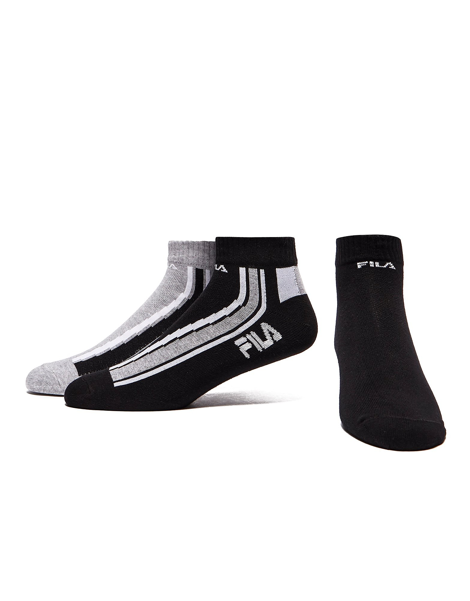 Fila 3 Pack Quarter Sport Socks Heren