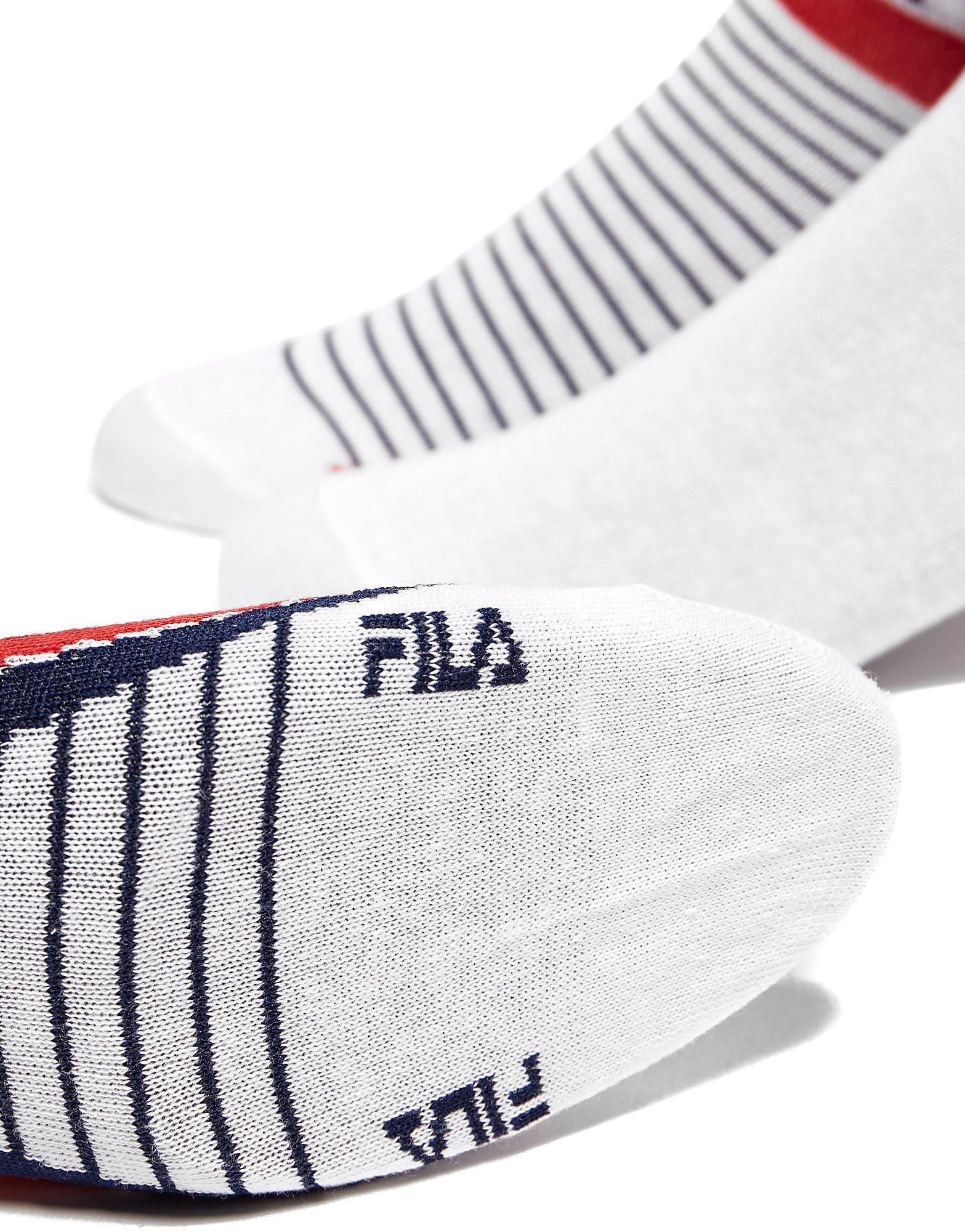 Fila 3-Pack Low Ped Socks