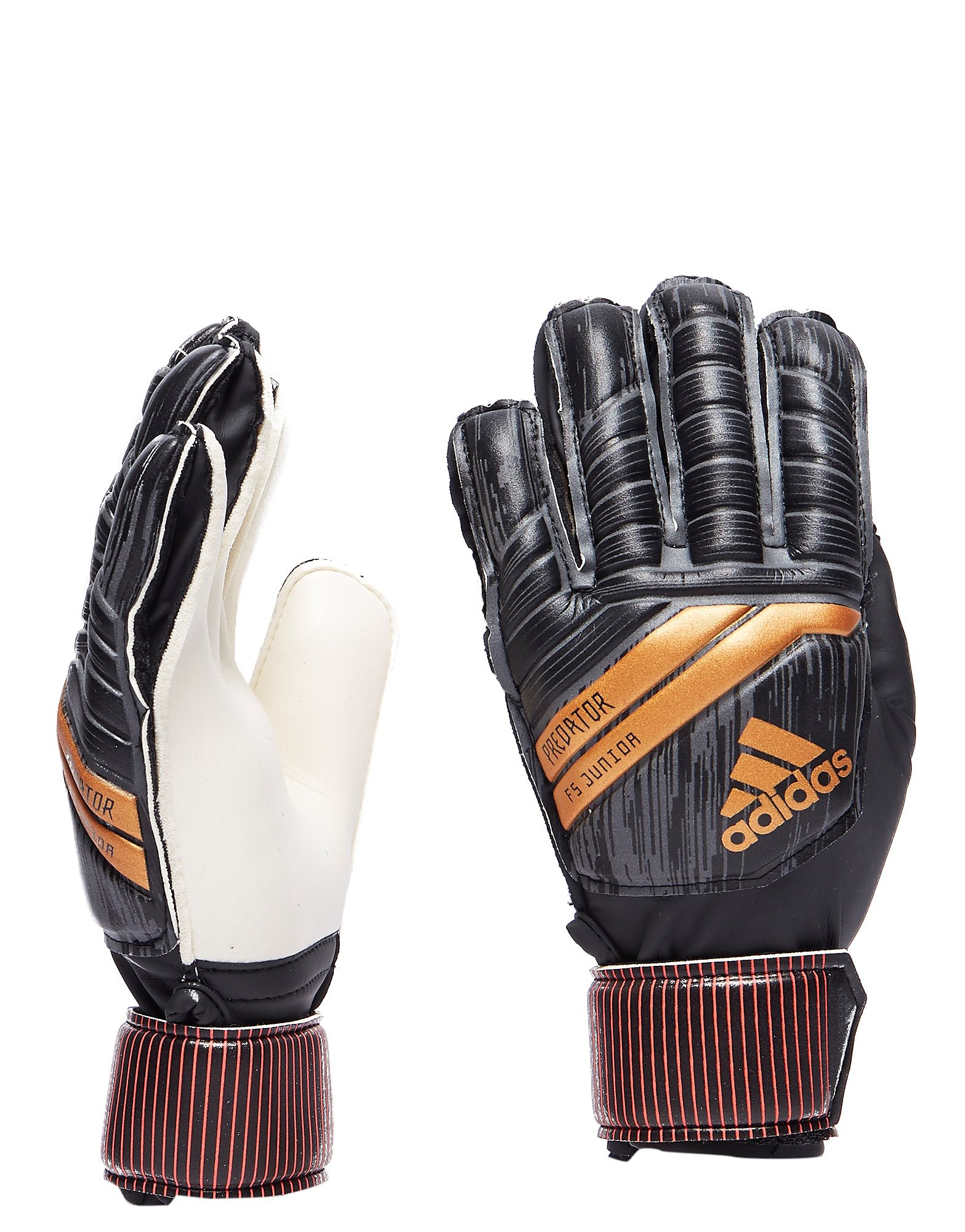 adidas Predator Fingersave Goalkeeping Gloves Junior