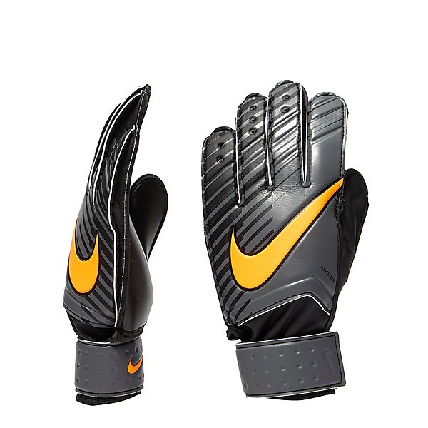 nike goal Unisex nike match goalkeeper football gloves unisex nike match goalkeeper football gloves deliver dependable grip and control in varied weather conditions, while also absorbing ball impact.