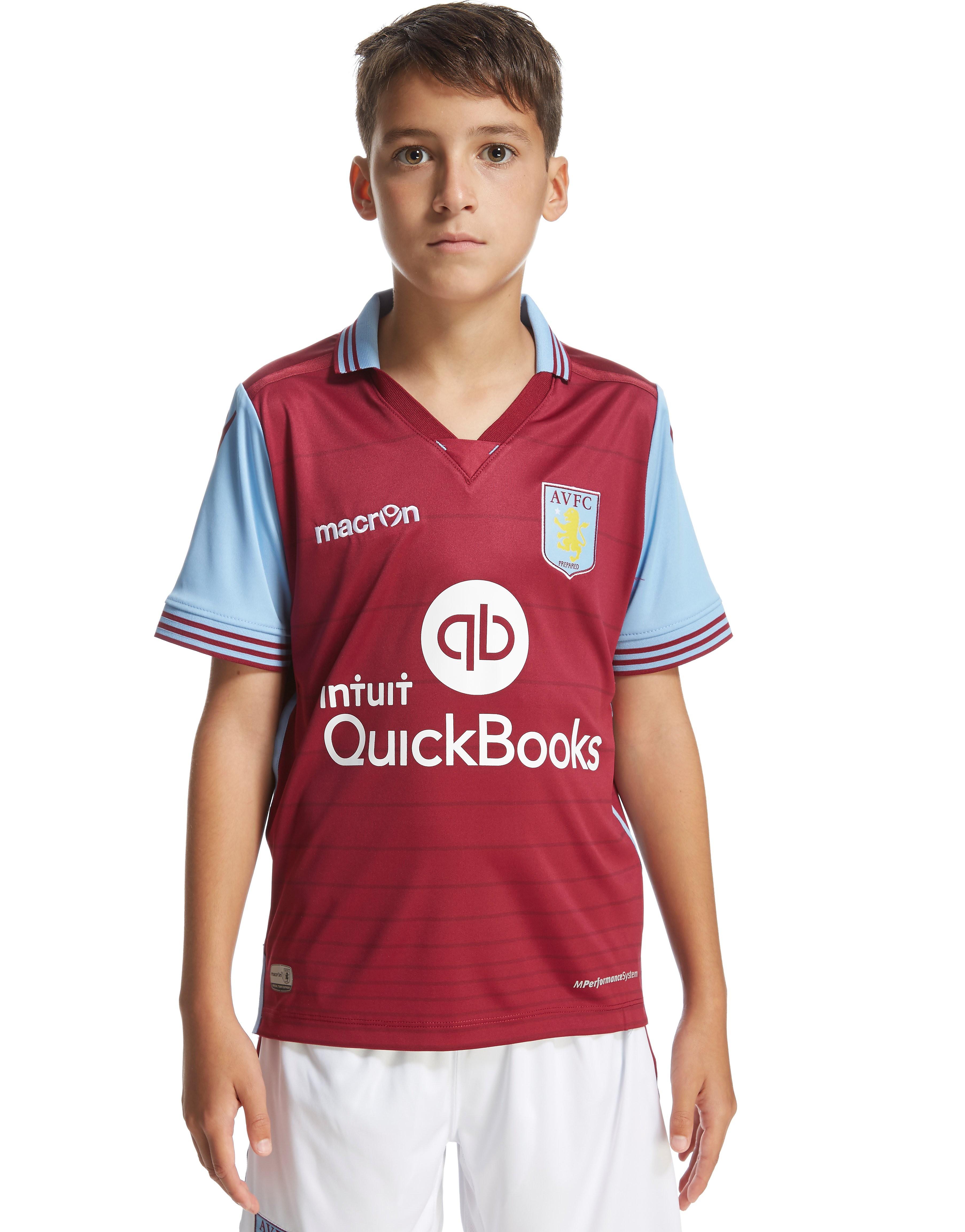 Macron Aston Villa FC Home 2015/16 Shirt Junior