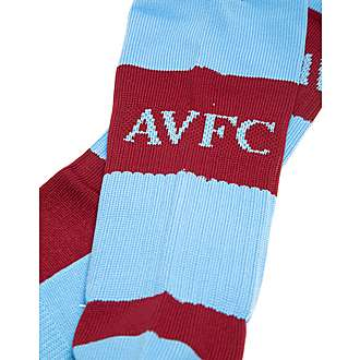 Macron Aston Villa FC Home 2015/16 Socks Junior