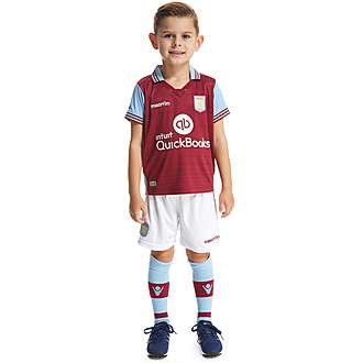 Macron Aston Villa FC Home 2015/16 Kit Children