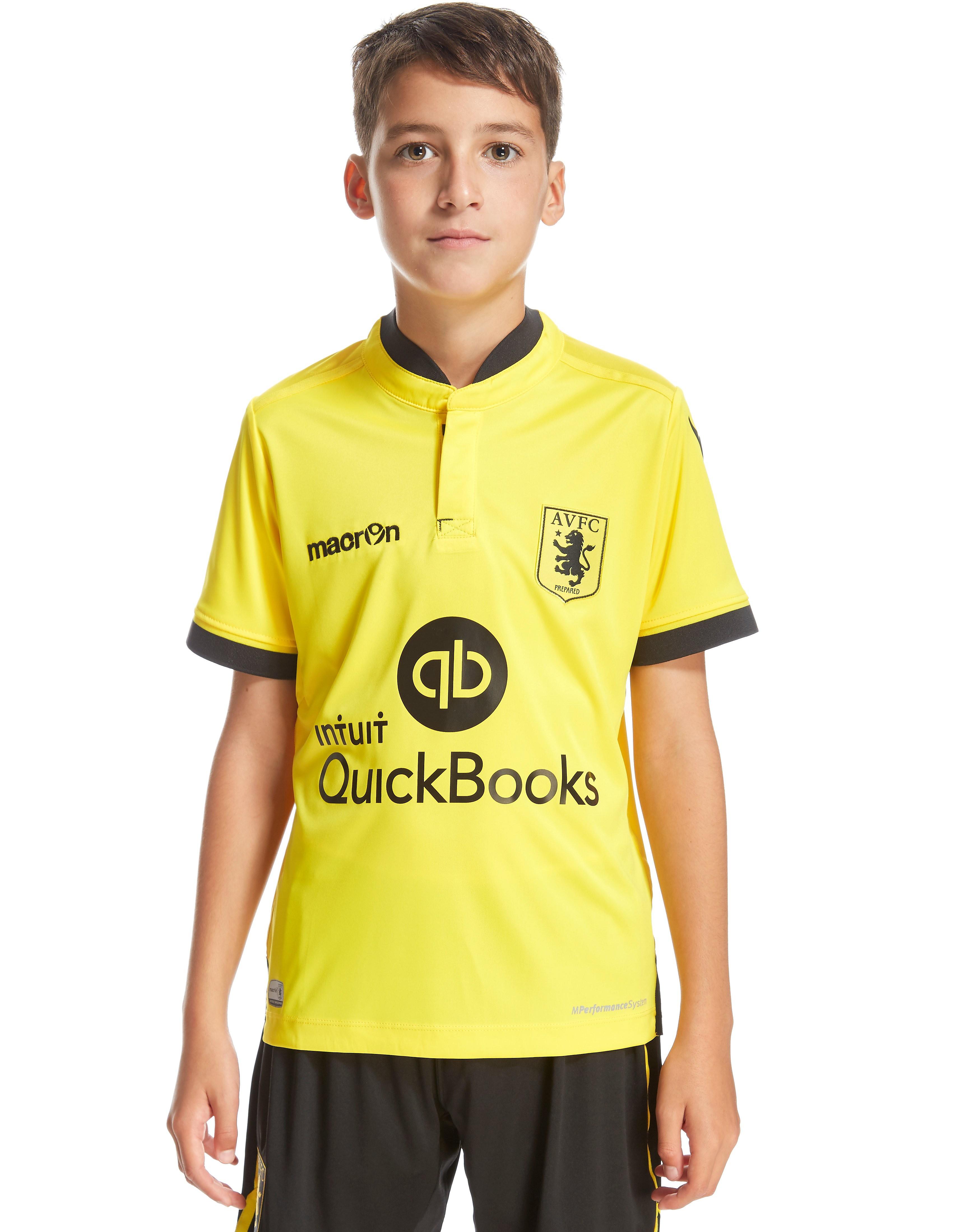 Macron Aston Villa FC Away 2015/16 Shirt Junior