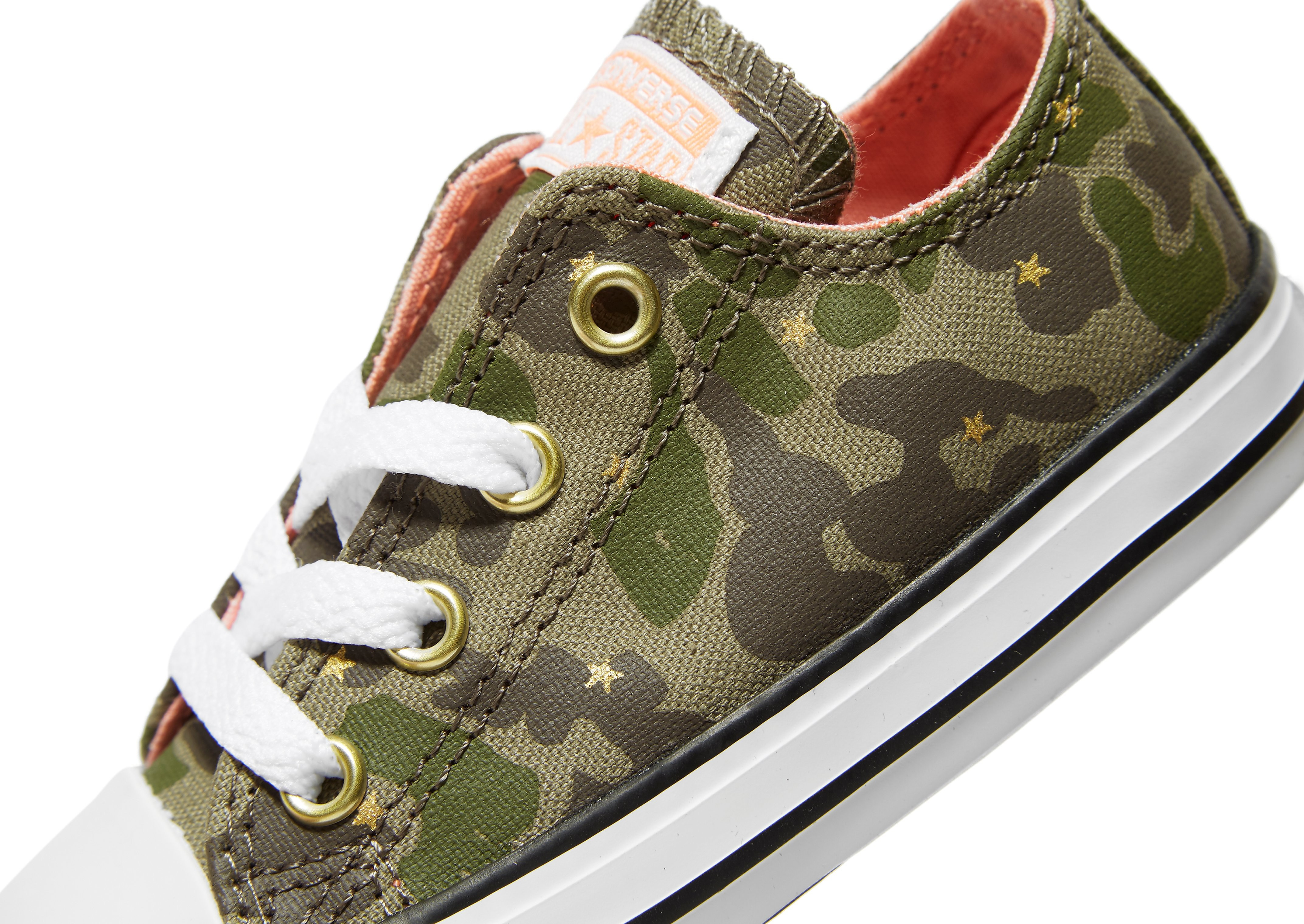 Converse All Star Camo Ox Småbørn