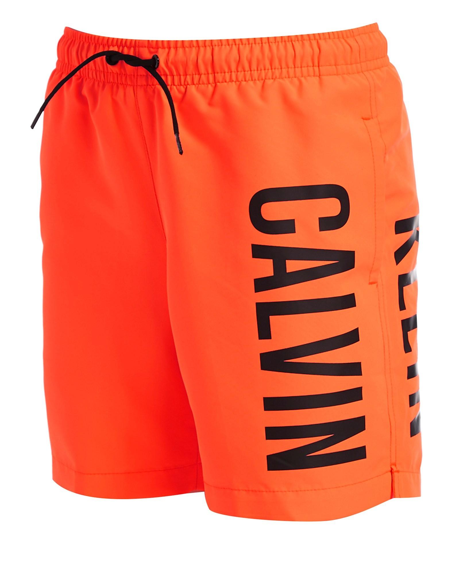 Calvin Klein Logo Swim Shorts Junior