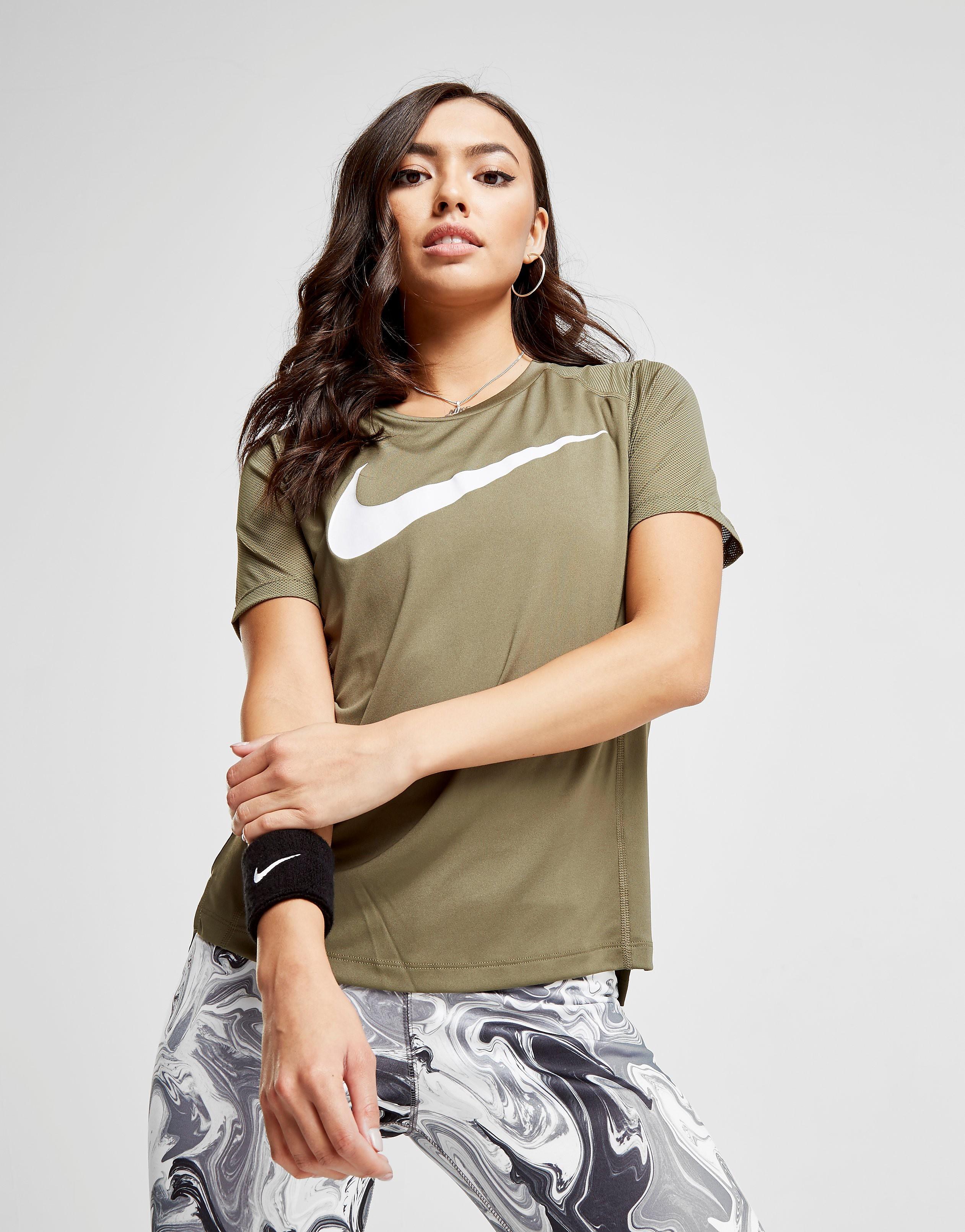 Nike Running Miler Swoosh T-Shirt