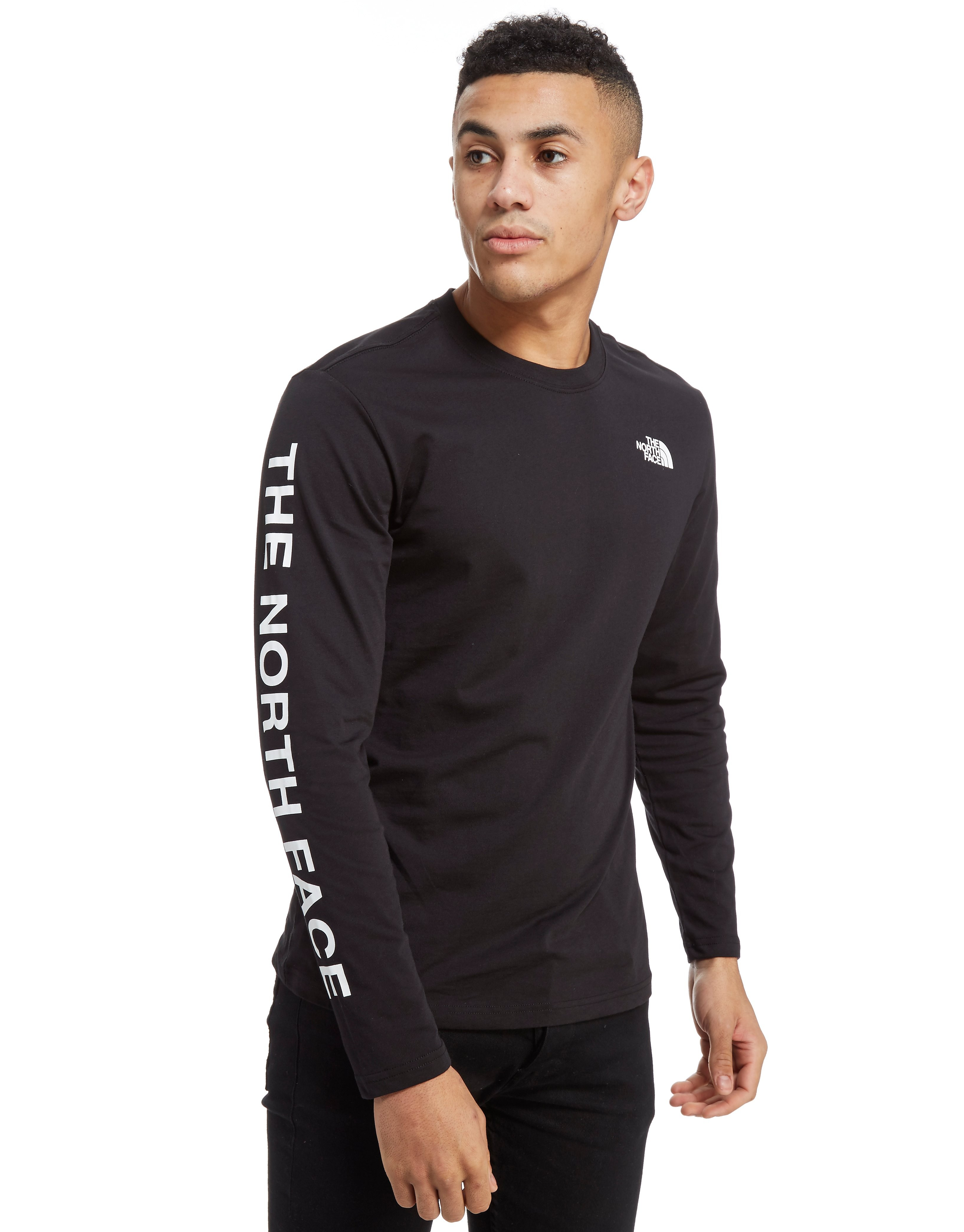The North Face Sleeve Print Long Sleeved T-Shirt