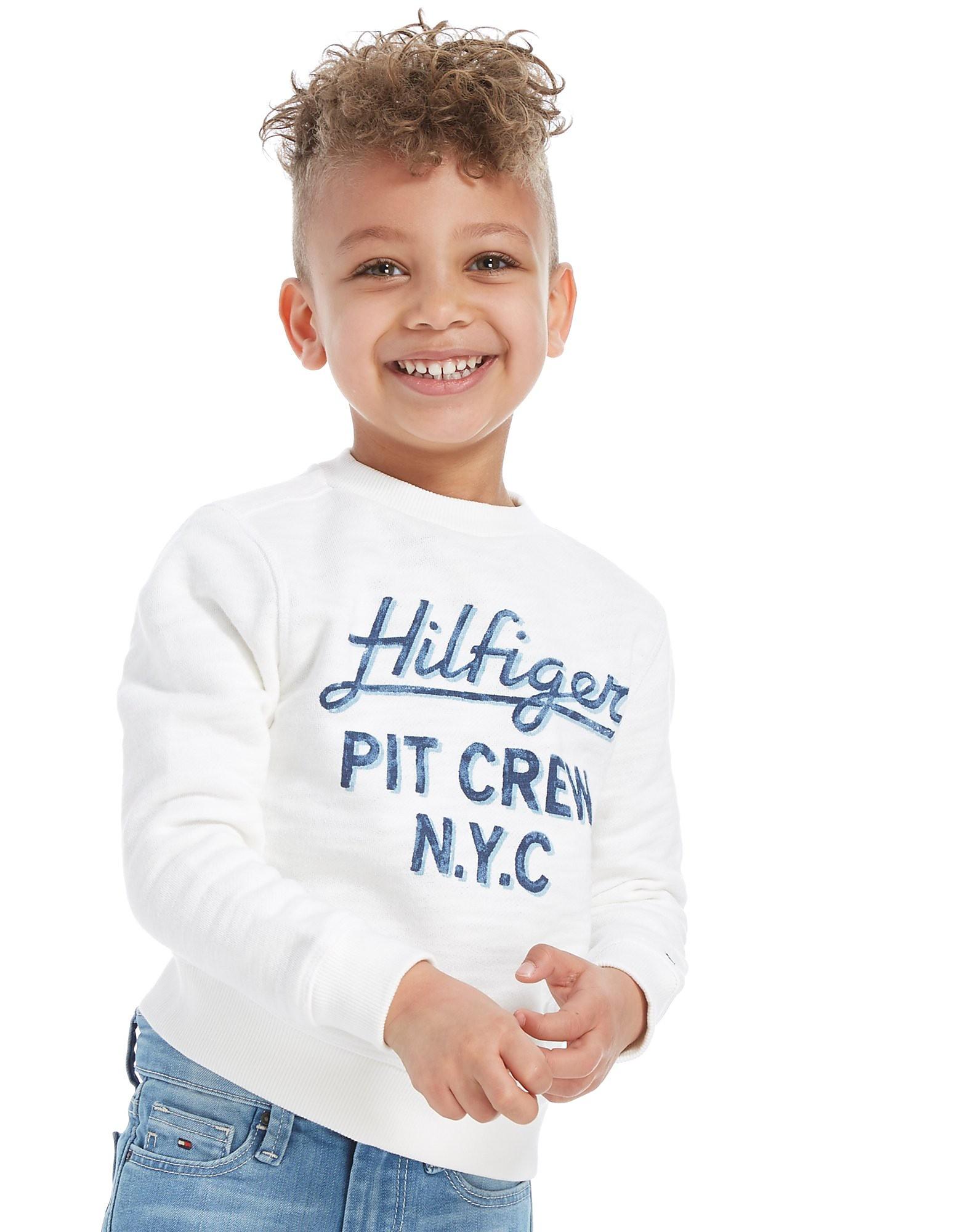 Tommy Hilfiger Script Logo Crew Sweatshirt Children