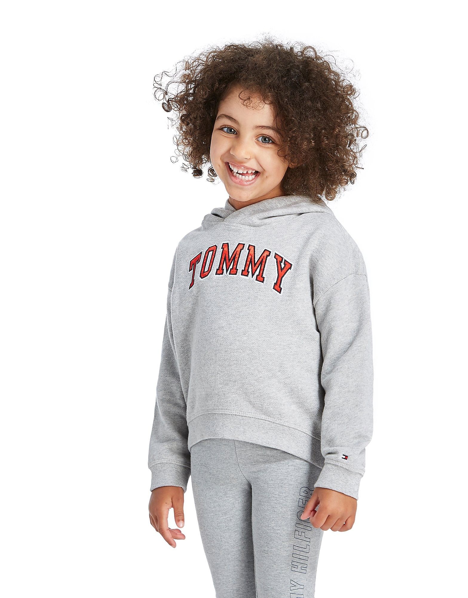 Tommy Hilfiger Girls' Ame Logo Hoodie Children