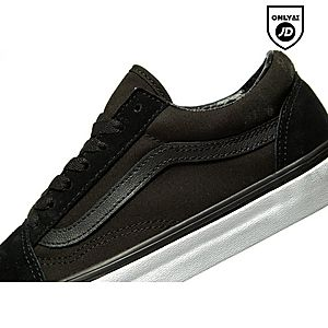 black junior vans