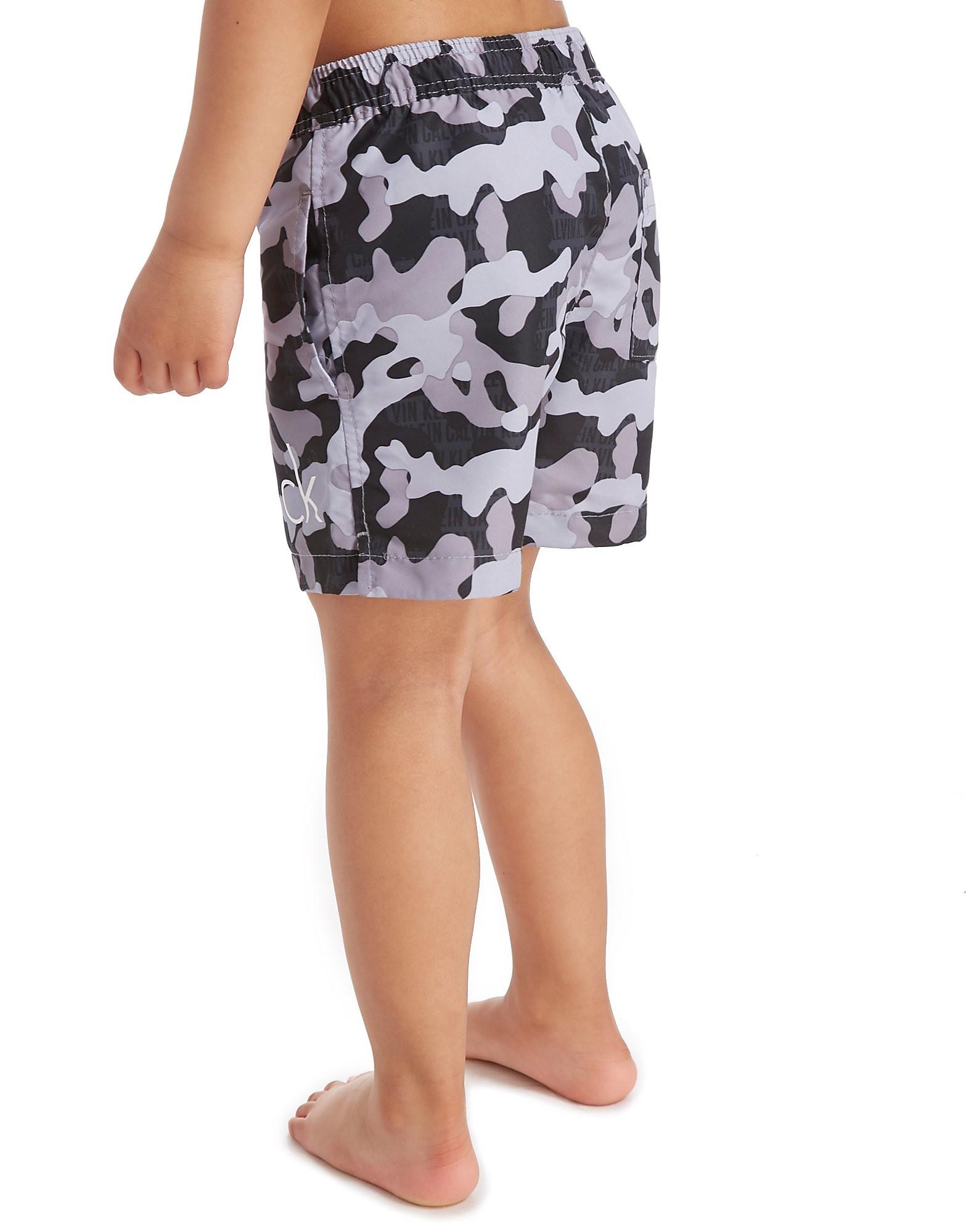 Calvin Klein Camo Swim Shorts Children