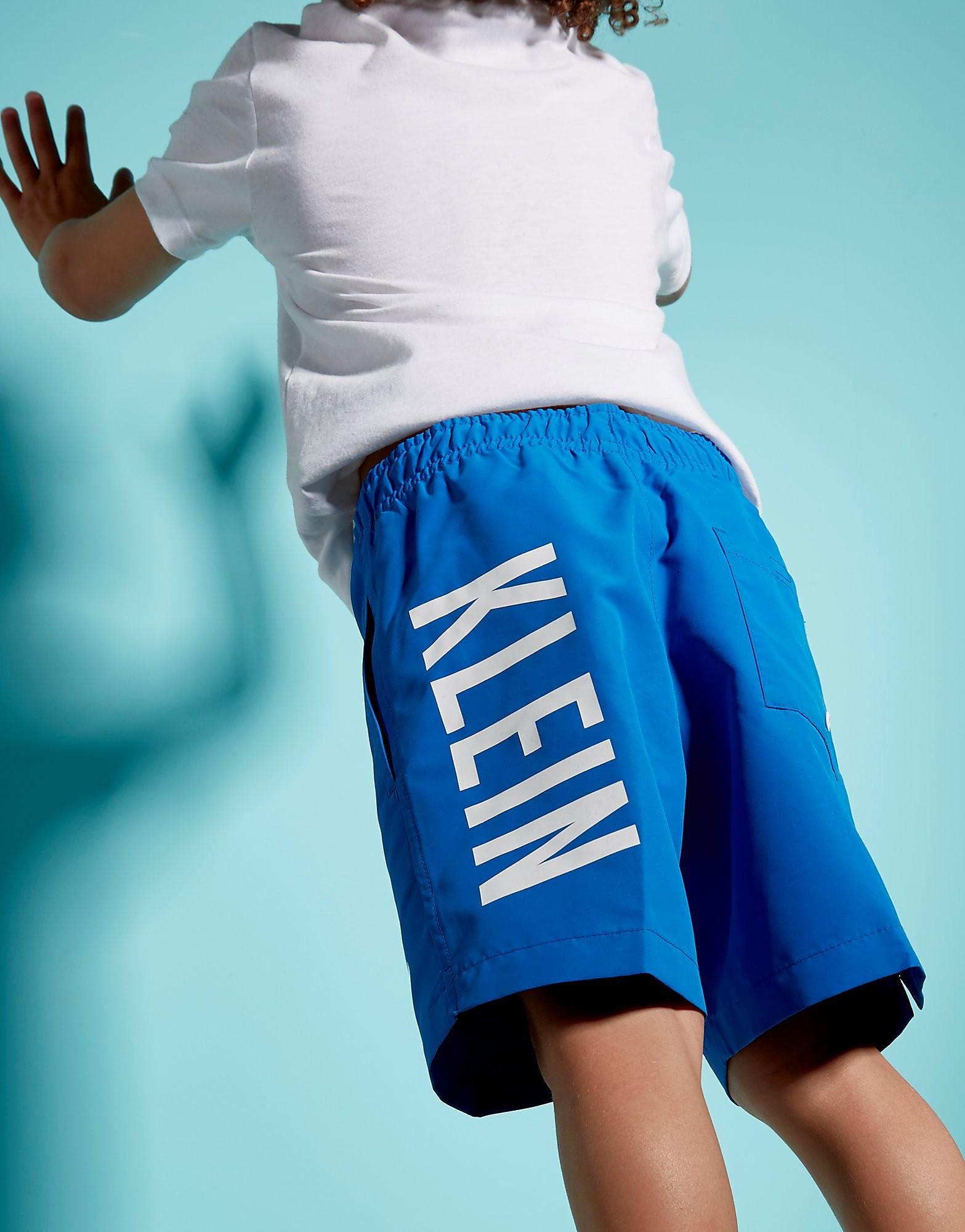 Calvin Klein Logo Swim Shorts Children