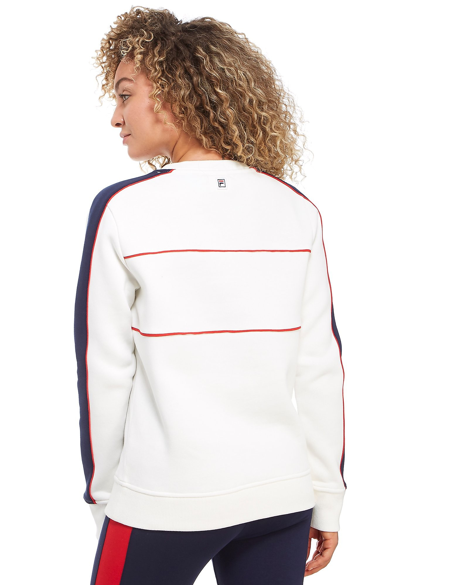 Fila Logo Crew Sweatshirt Dames