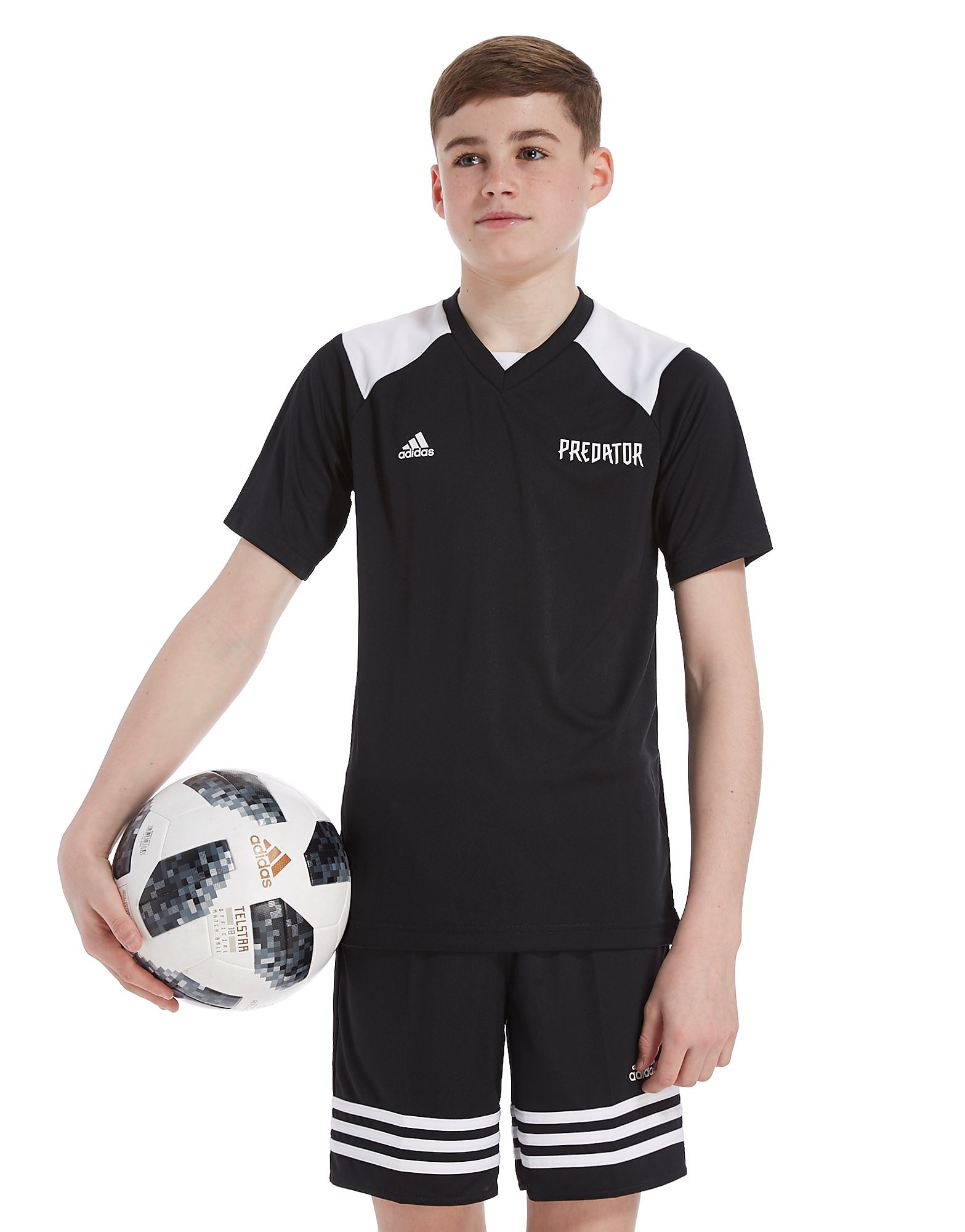 adidas Predator Poly T-Shirt Junior
