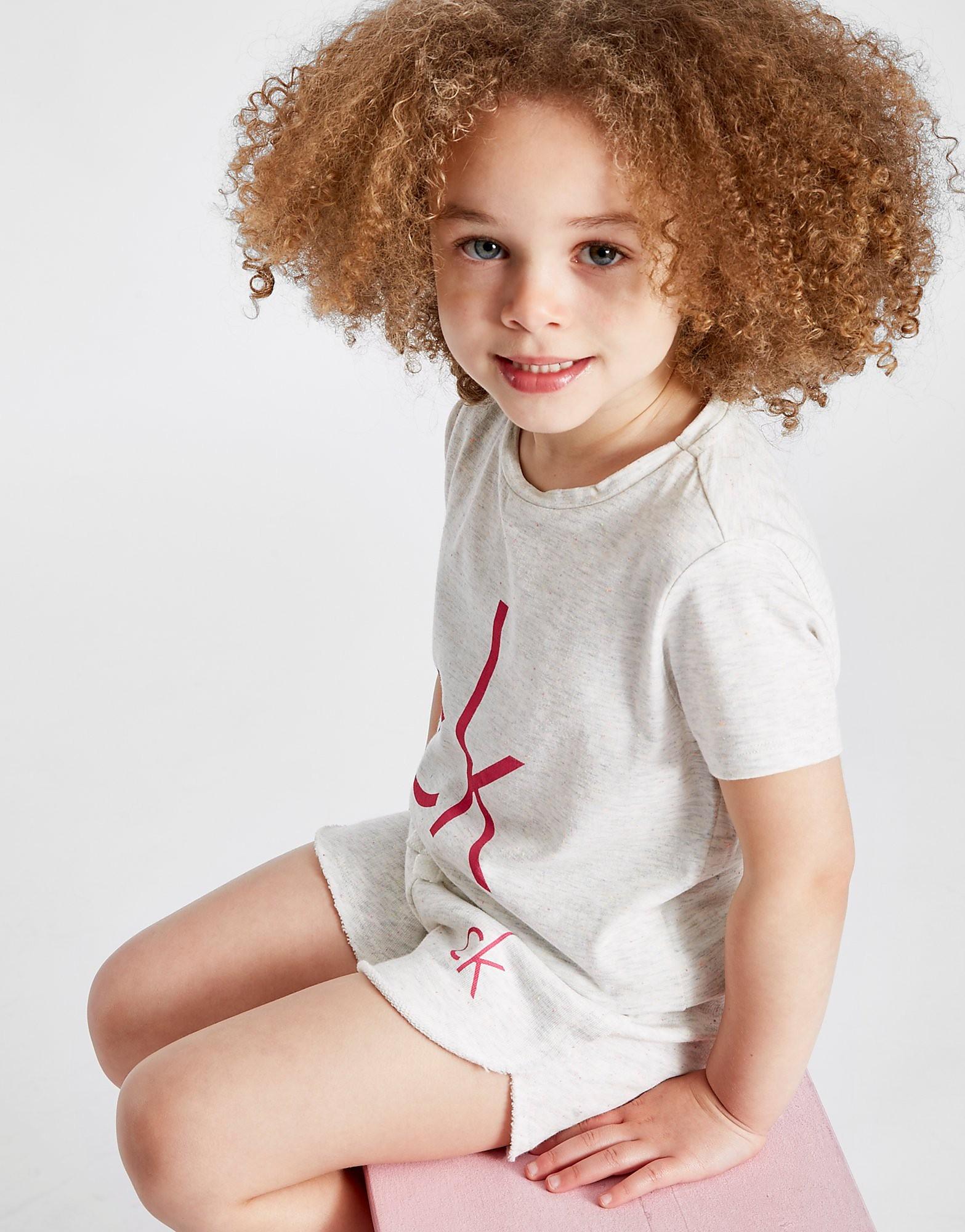 Calvin Klein Girls' Logo French Terry Shorts Children