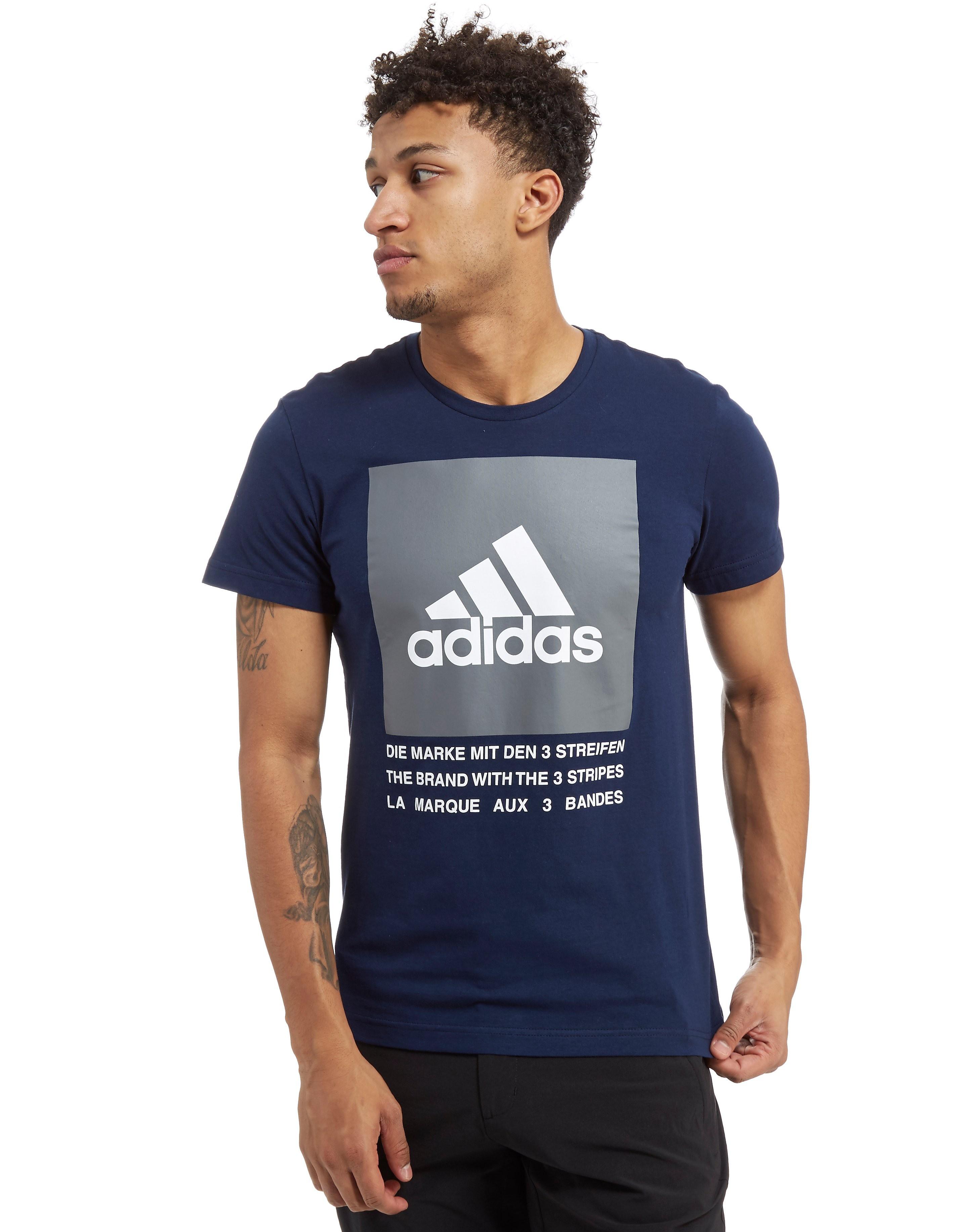 adidas 3-Stripes Box T-Shirt Homme