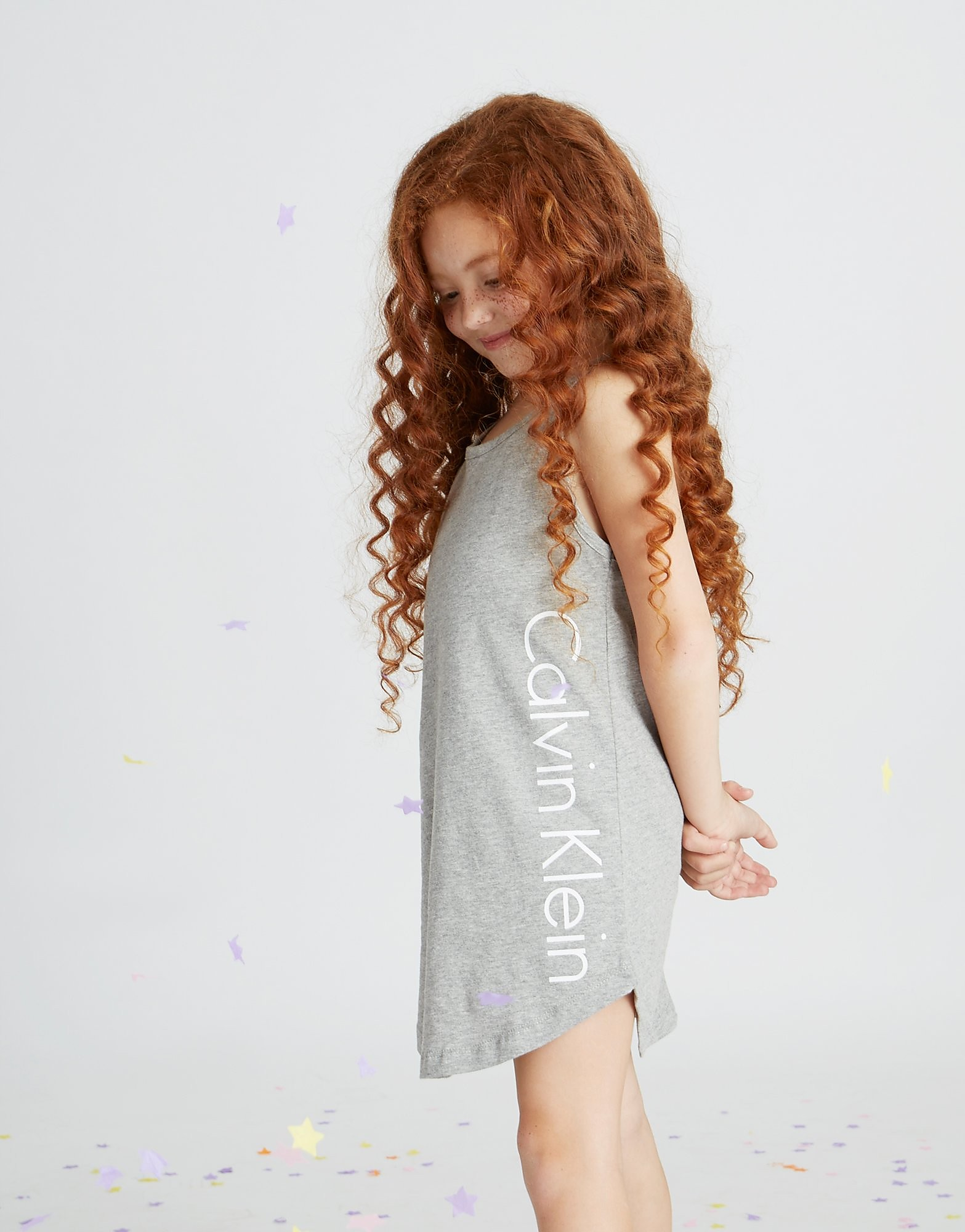 Calvin Klein Girls' Beach Tank Dress Children