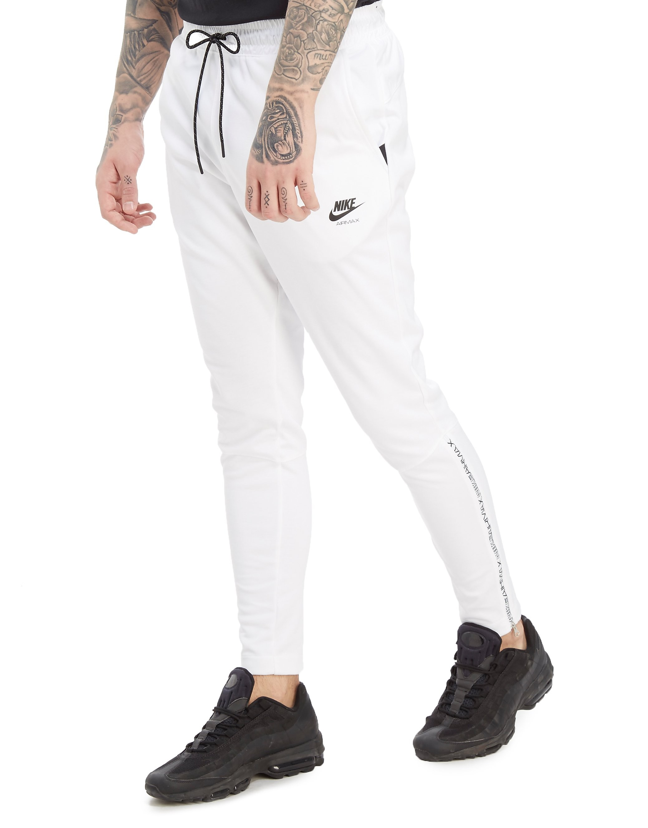 Nike Air Max Poly Joggers - Only at JD - White/Black - Mens, White/Black
