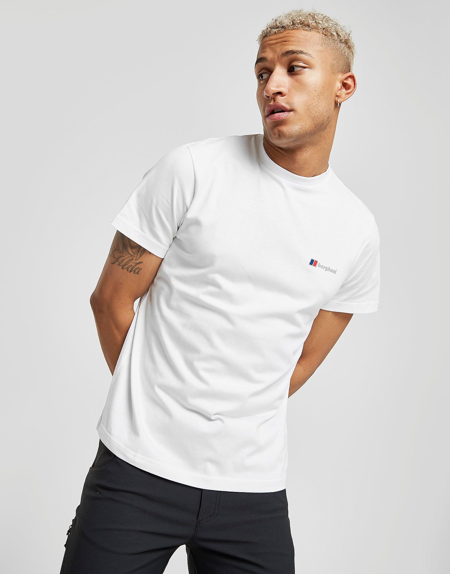 Berghaus Small Front Logo T-Shirt - Only at JD - Blanc, Blanc