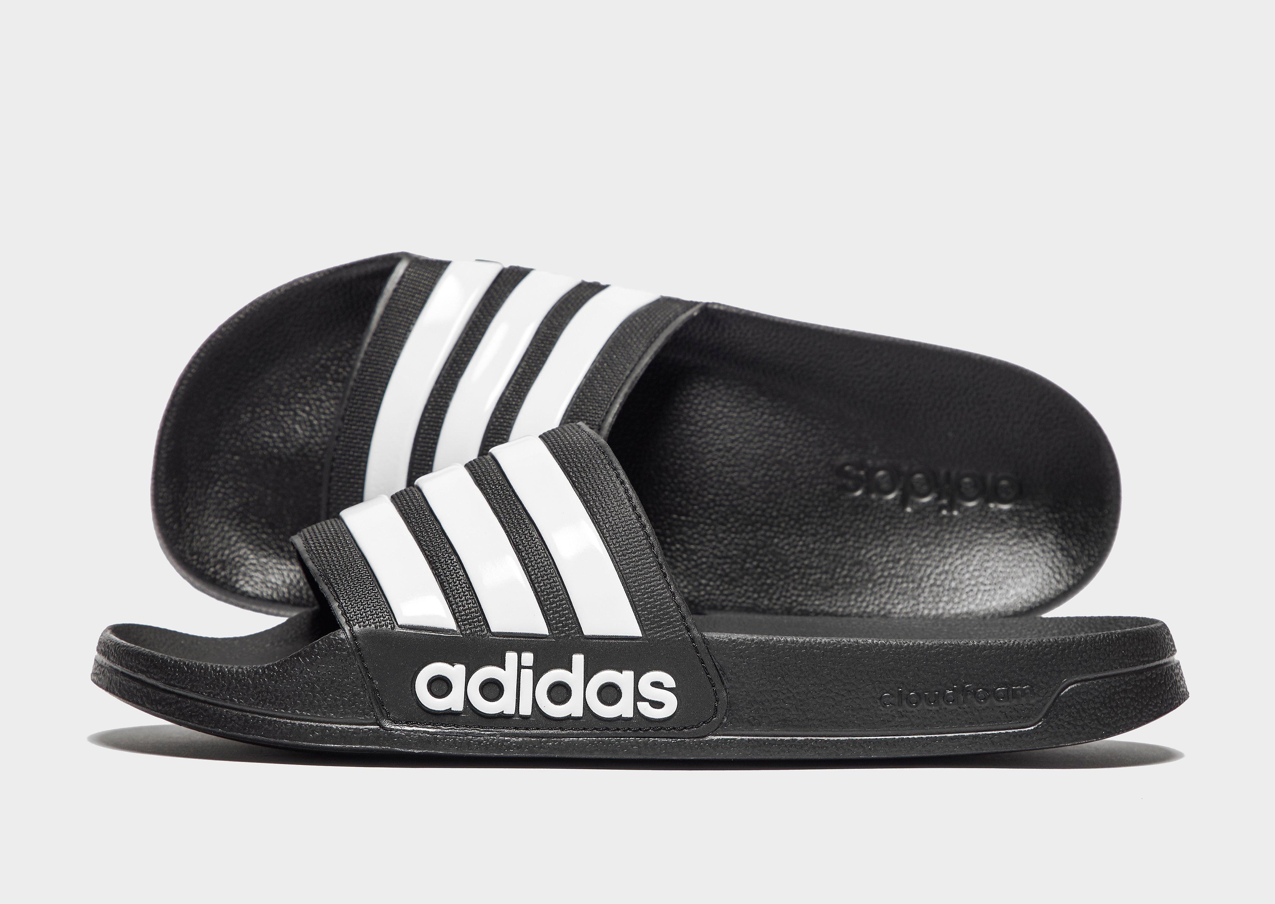 adidas Cloudfoam Adilette Slides Heren Zwart Heren
