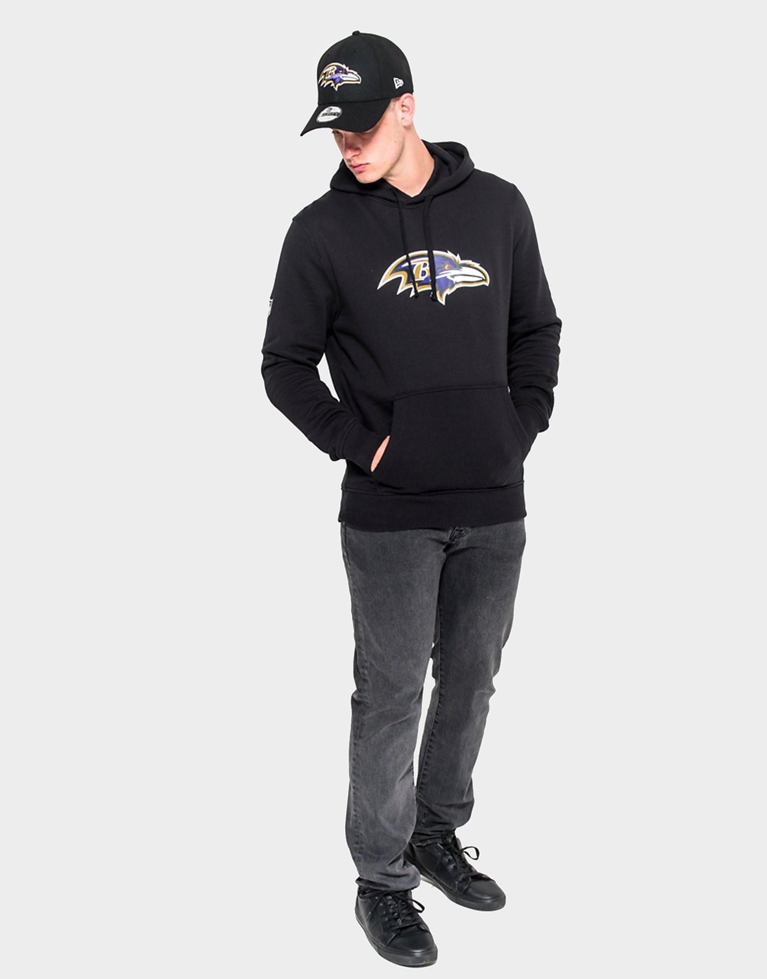 New Era Baltimore Ravens Kapuzenpullover schwarz