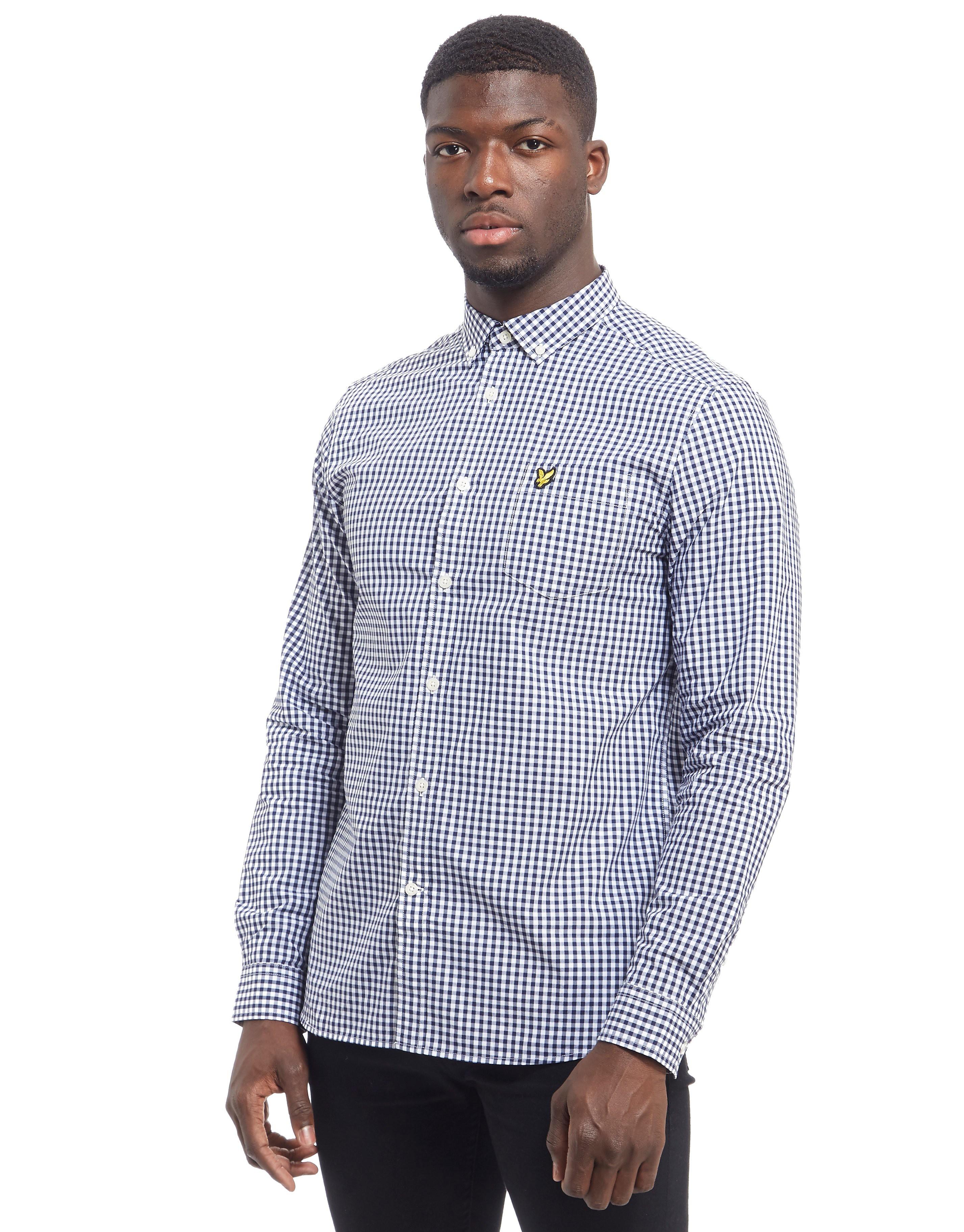 Lyle & Scott Long Sleeve Gingham Shirt