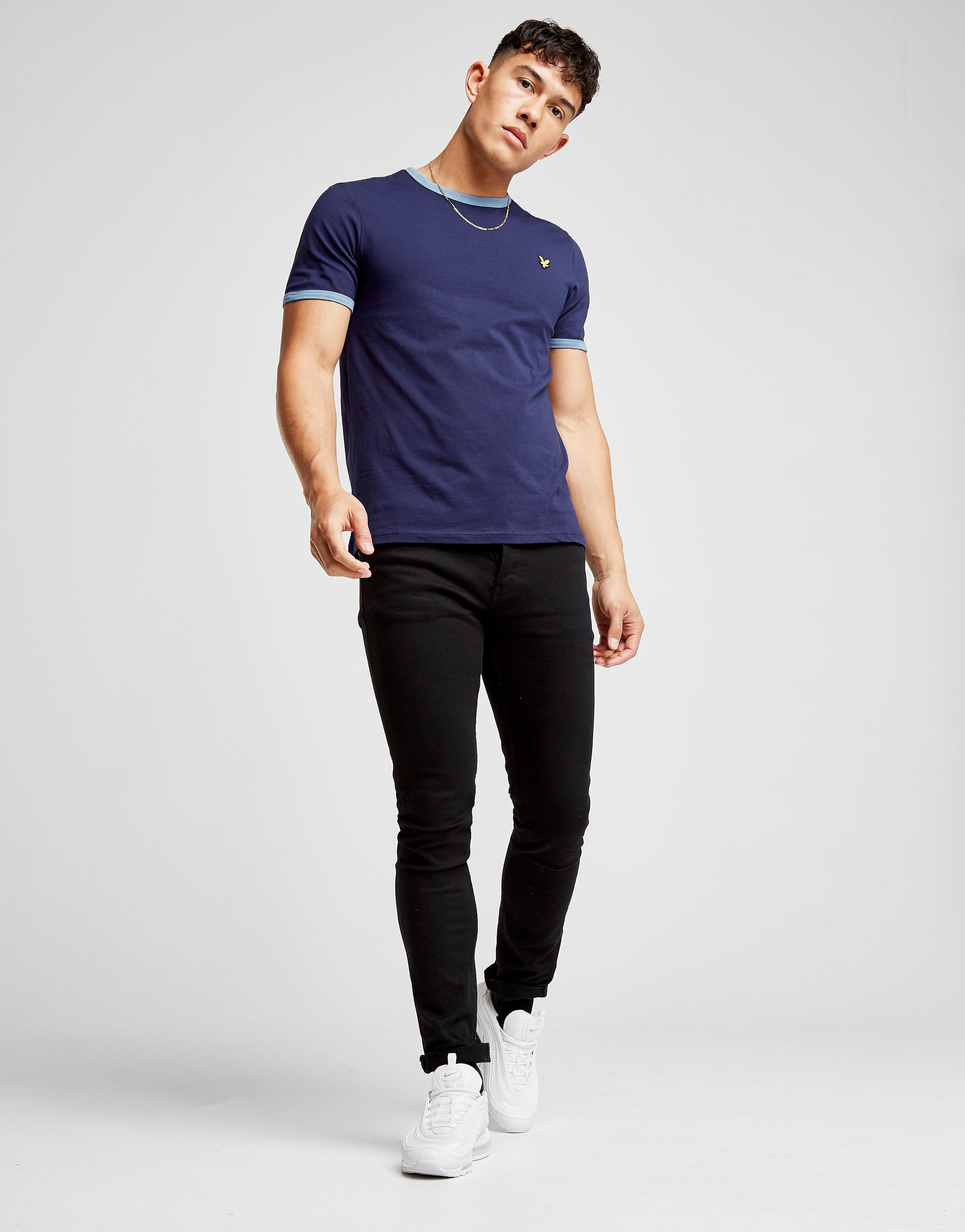 Lyle & Scott Kurzarm Ringer T-Shirt